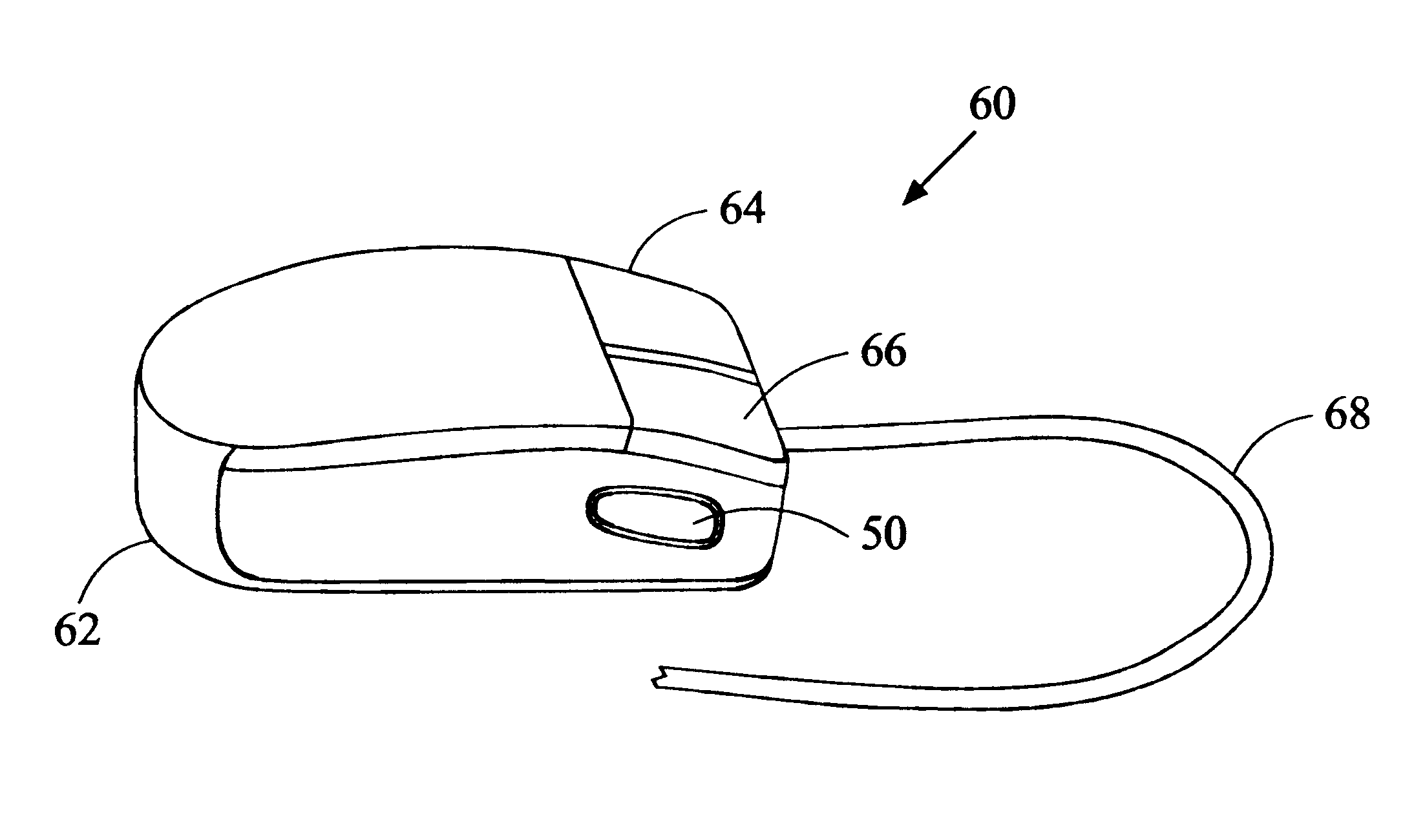 Patent Us6567073 Ambidextrous Computer Mouse Google Patents Diagram Drawing
