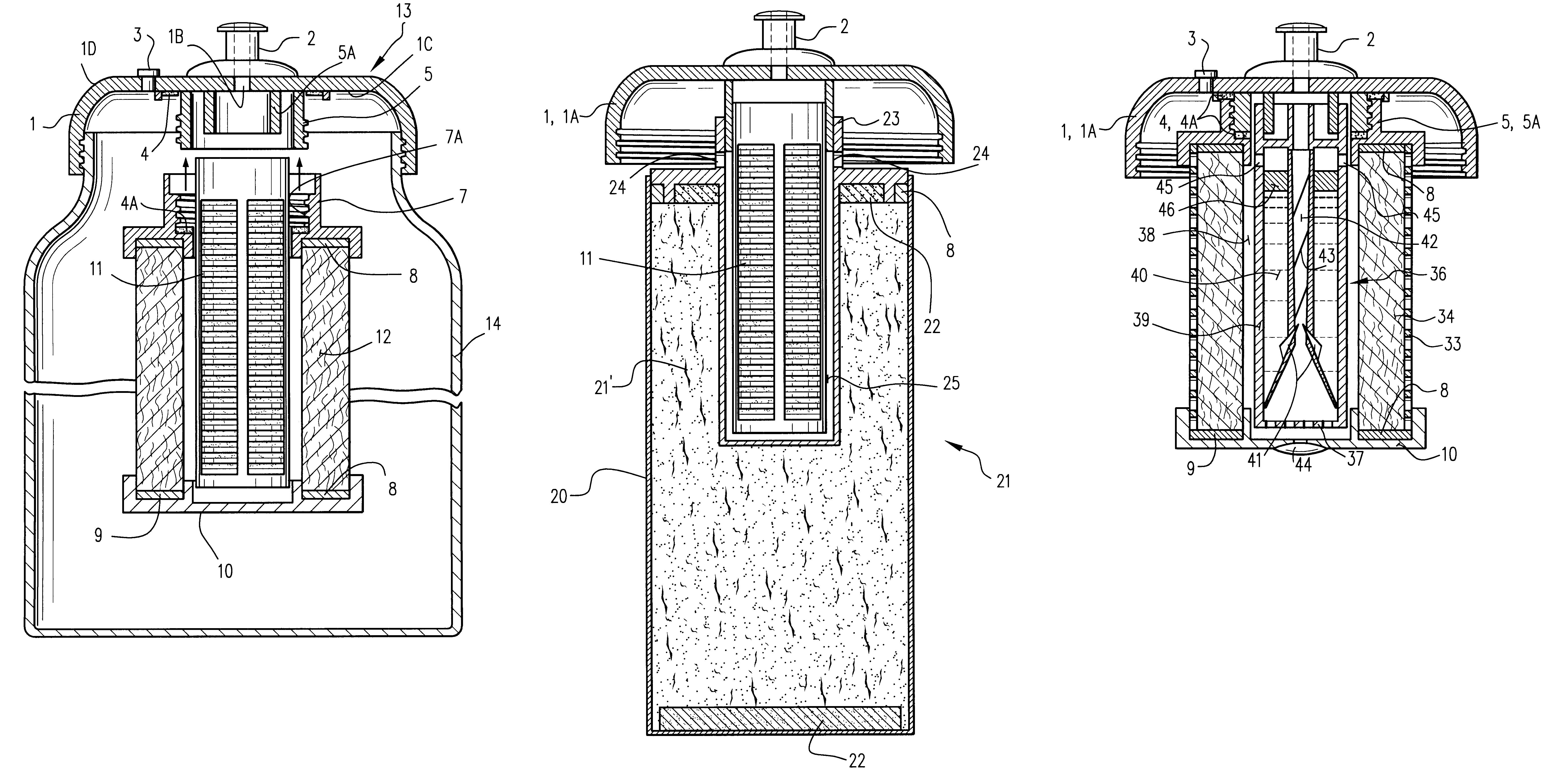 Patent Us6569329 Personal Water Filter Bottle System