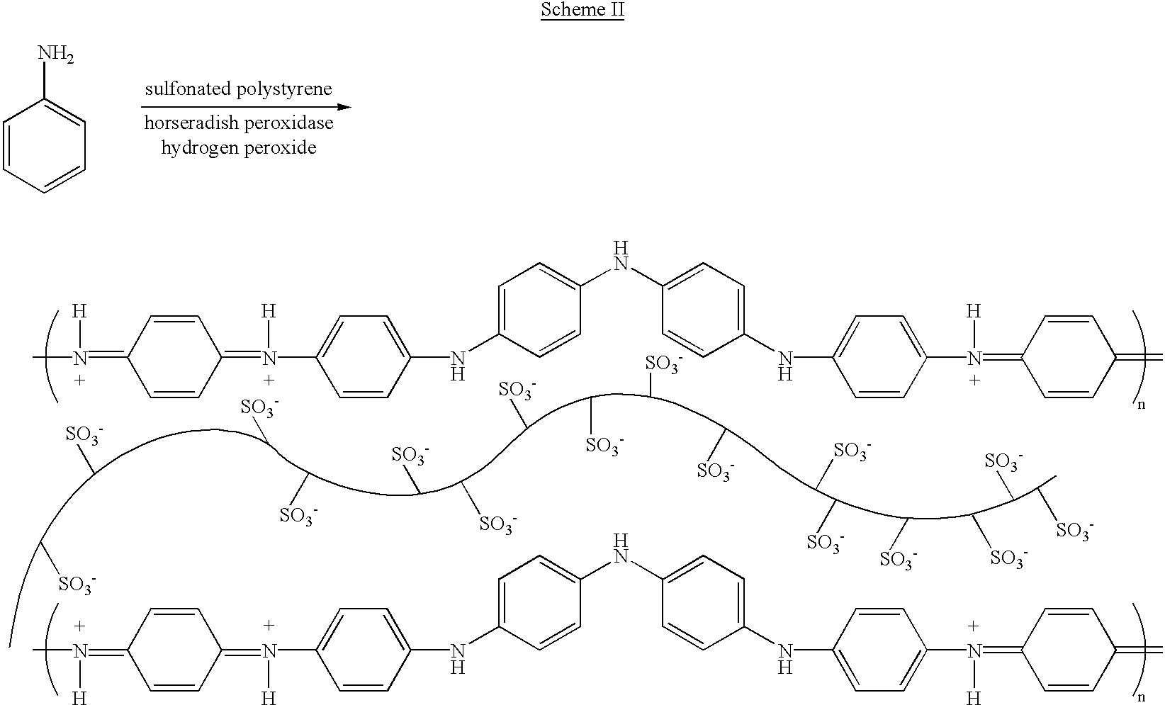 US6569651B1 - Enzymatic polymerization of anilines or phenols around ...