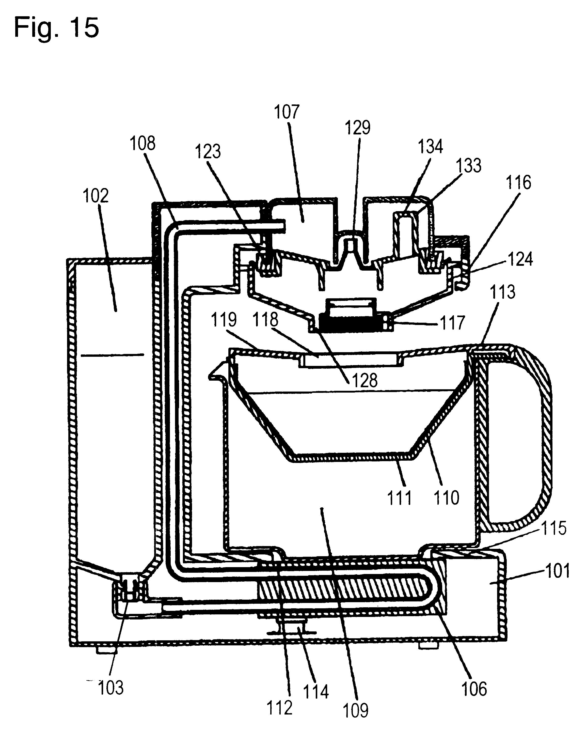 Patent US6575081 - Coffee maker - Google Patents