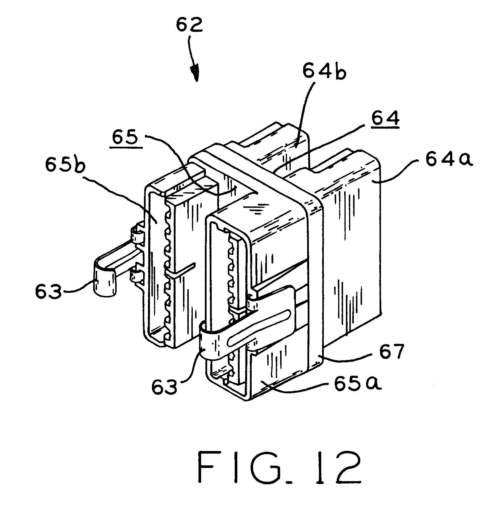 patent us6575777 - partition wiring system