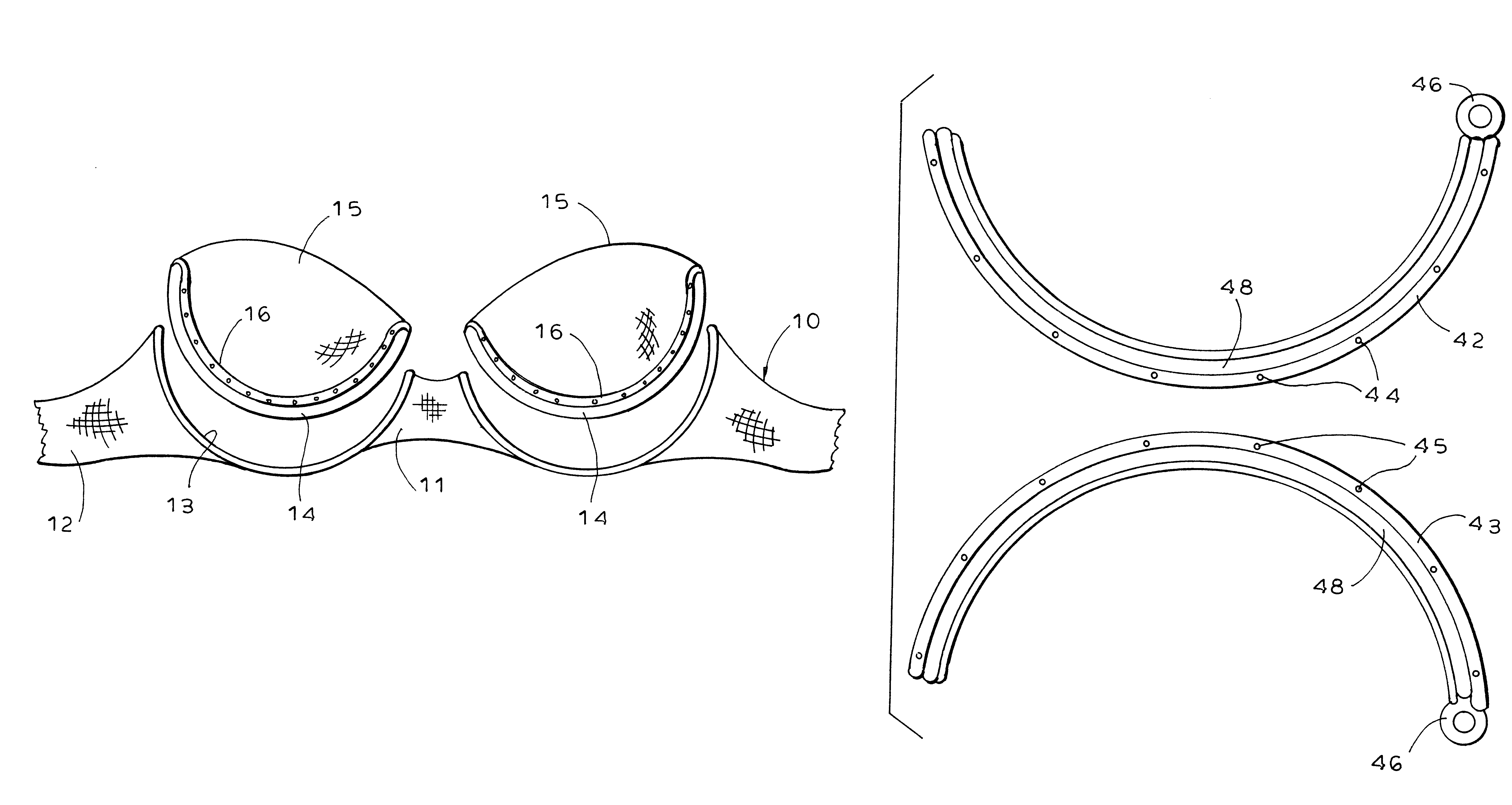 dc5937d1f Patent US6575811 - Zip wire brassiere - Google Patents