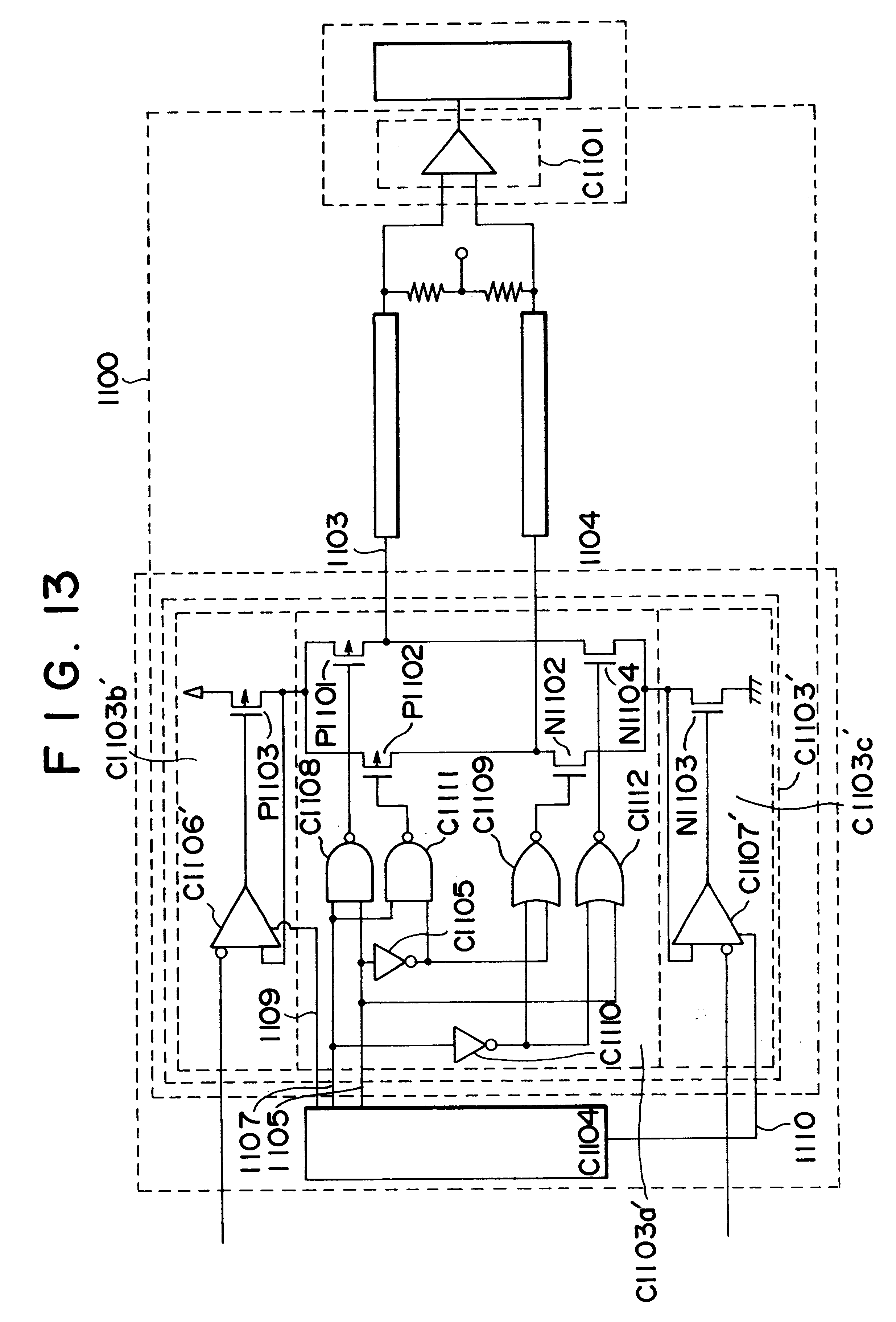 Patent Us6577164 Output Circuit For A Transmission System Google Nand Gate Diagram Powersupplycircuit Drawing