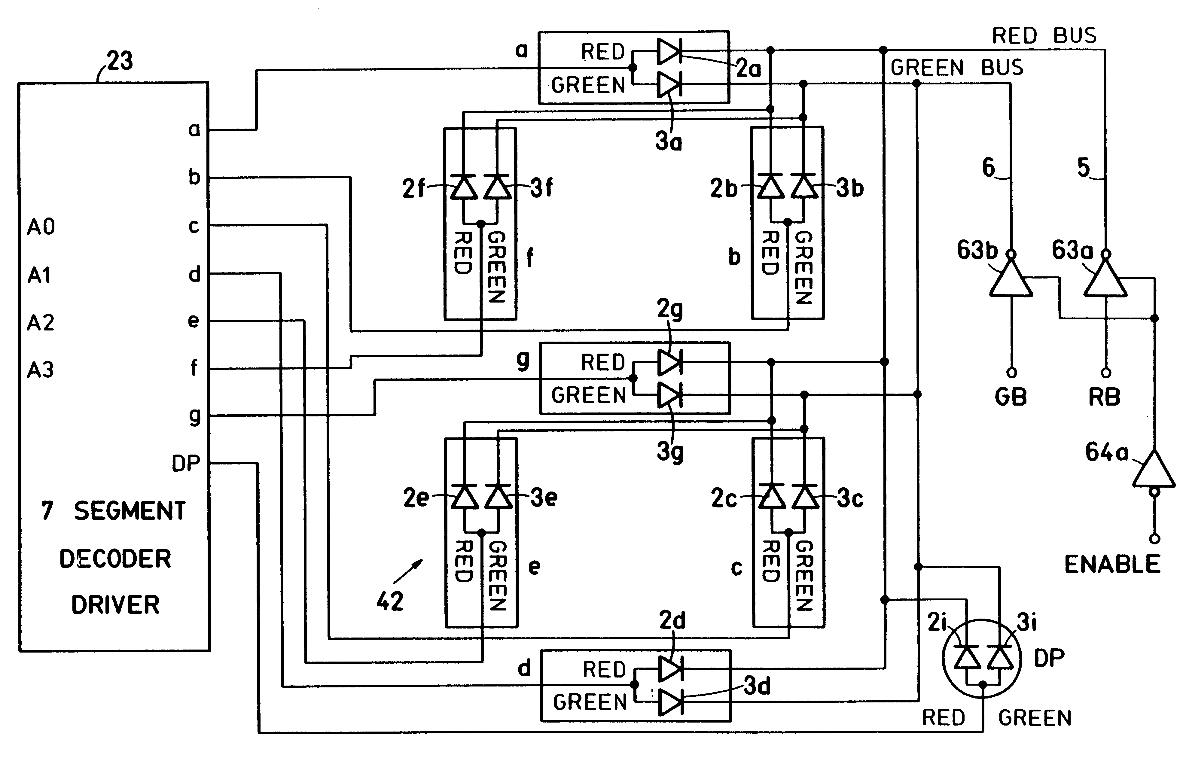 Patent Us6577287 Dual Variable Color Display Device Google Patents Digital Multimeter Schematic Free Electronic Circuits 8085 Drawing