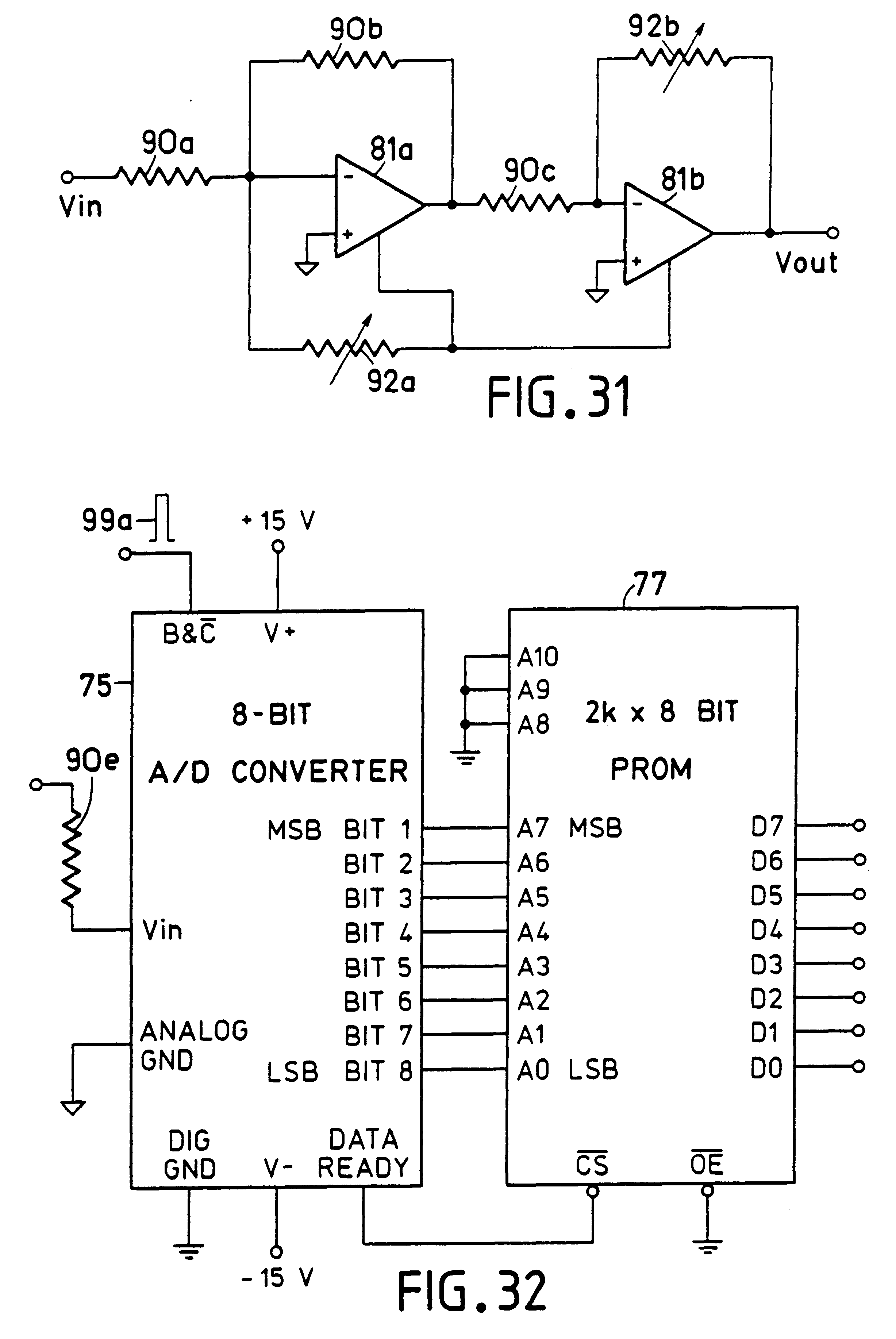 Patent Us6577287 Dual Variable Color Display Device Google Patents Lm741 A D Converter The Circuit Shown Is An 8 Bit Binary Drawing