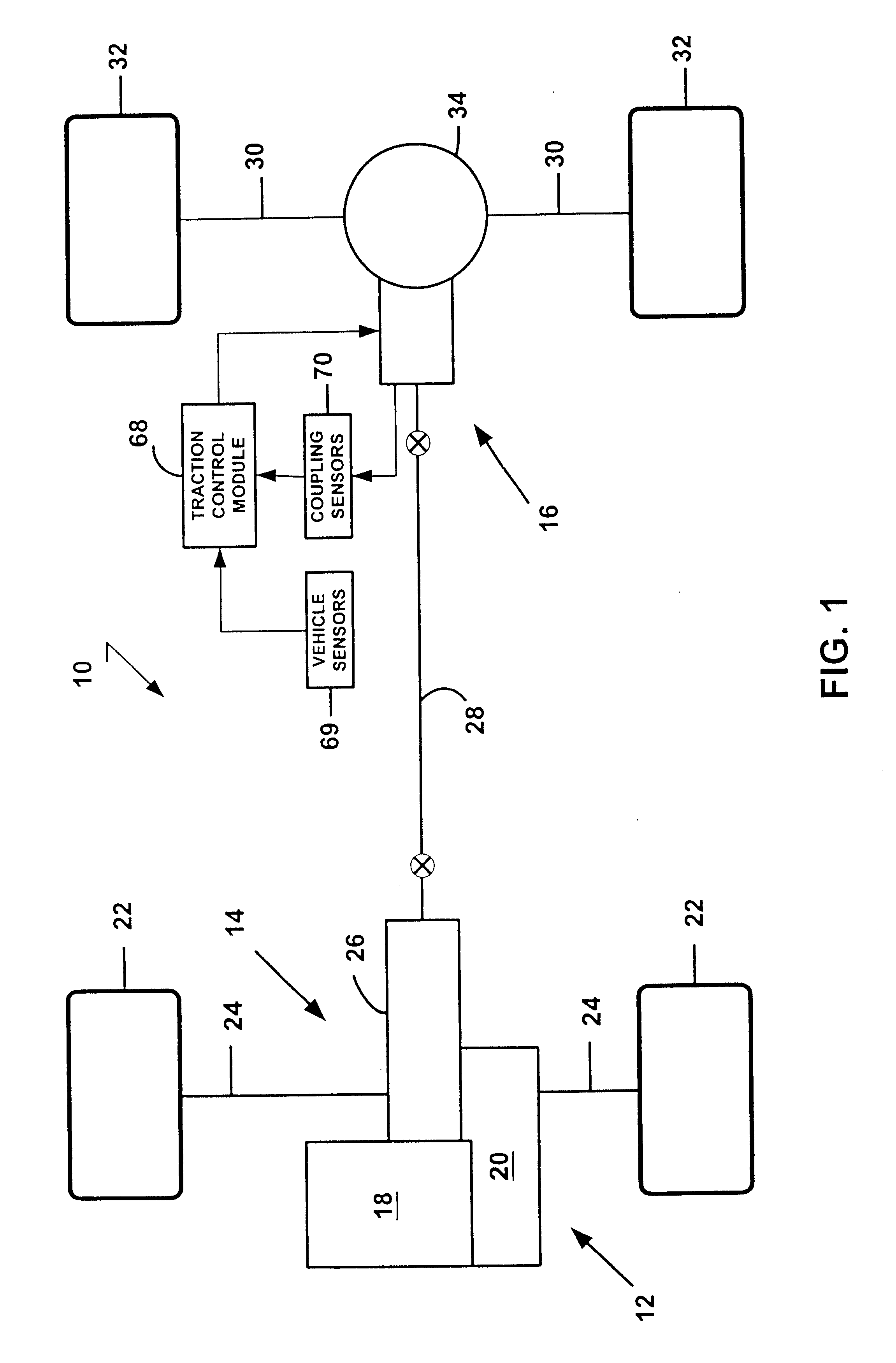 Vehicle Coupling System : Patent us electronically controlled coupling for