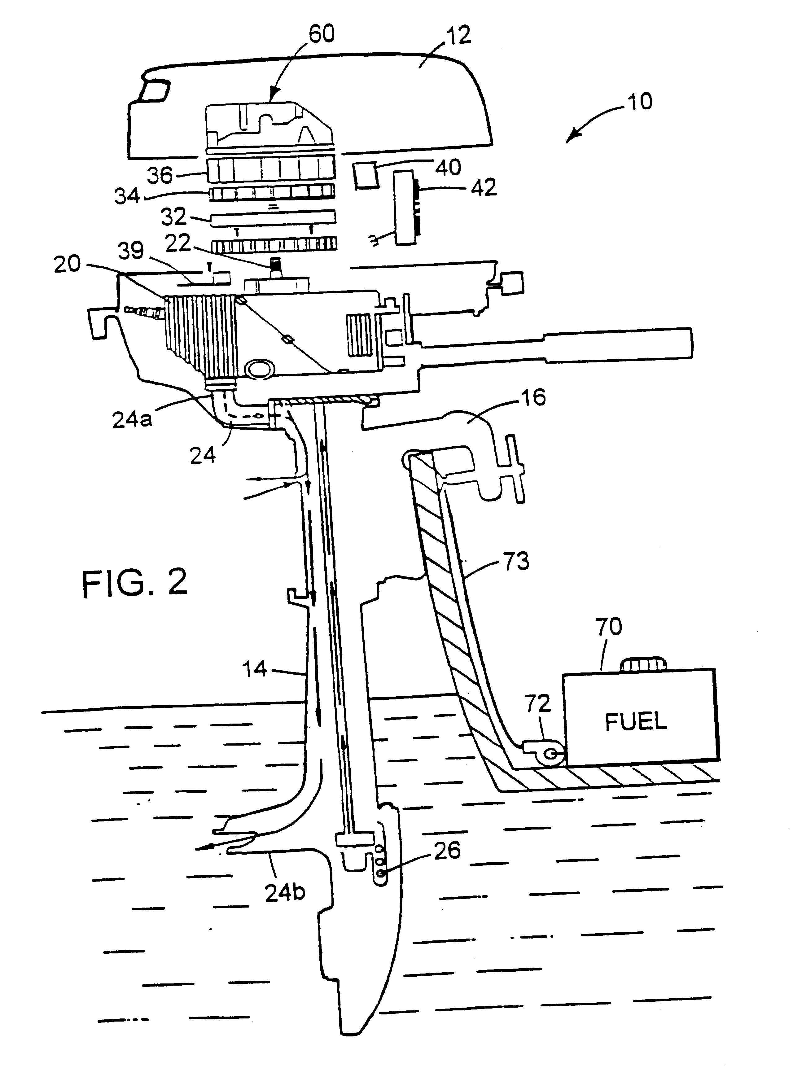 Patent US6579137 Marine Outboard Electrical Generator And US06579137 20030617 D00002 US6579137 Westerbeke Generator Wiring Diagram Stove