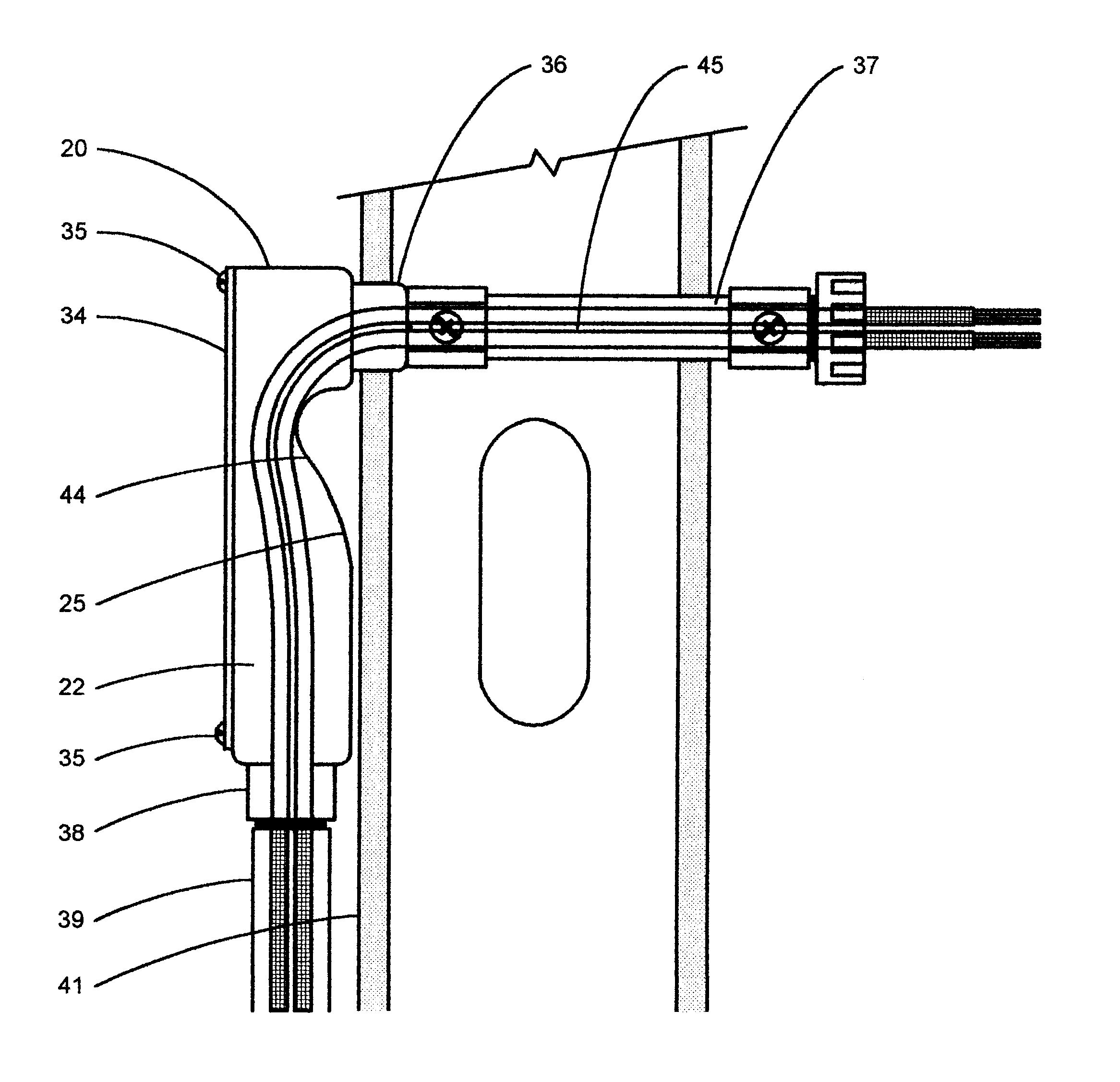 patent us6580029 - electrical and telecommunications conduit bodies