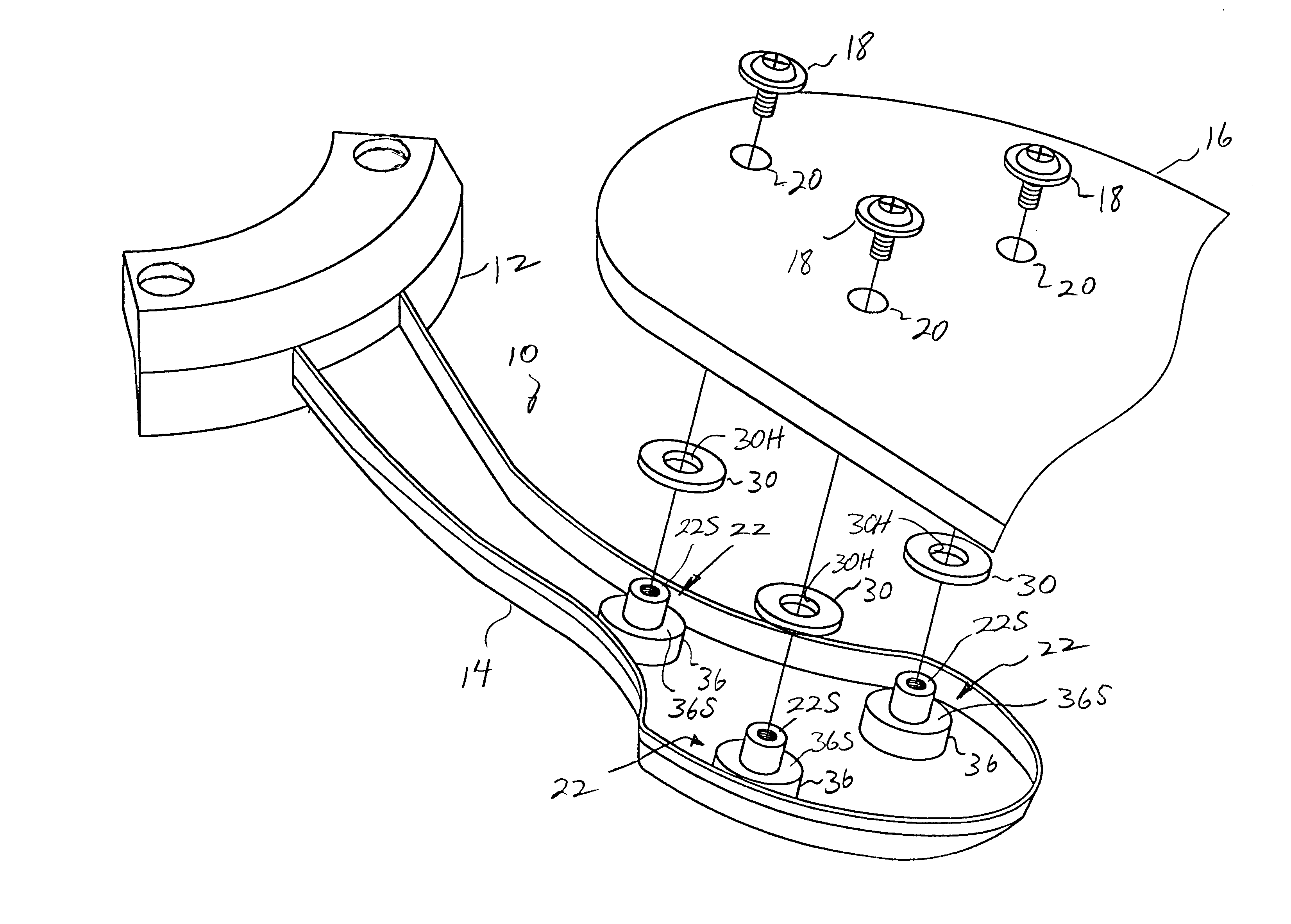 Fan Blade Drawing : Patent us ceiling fan blade isolation system