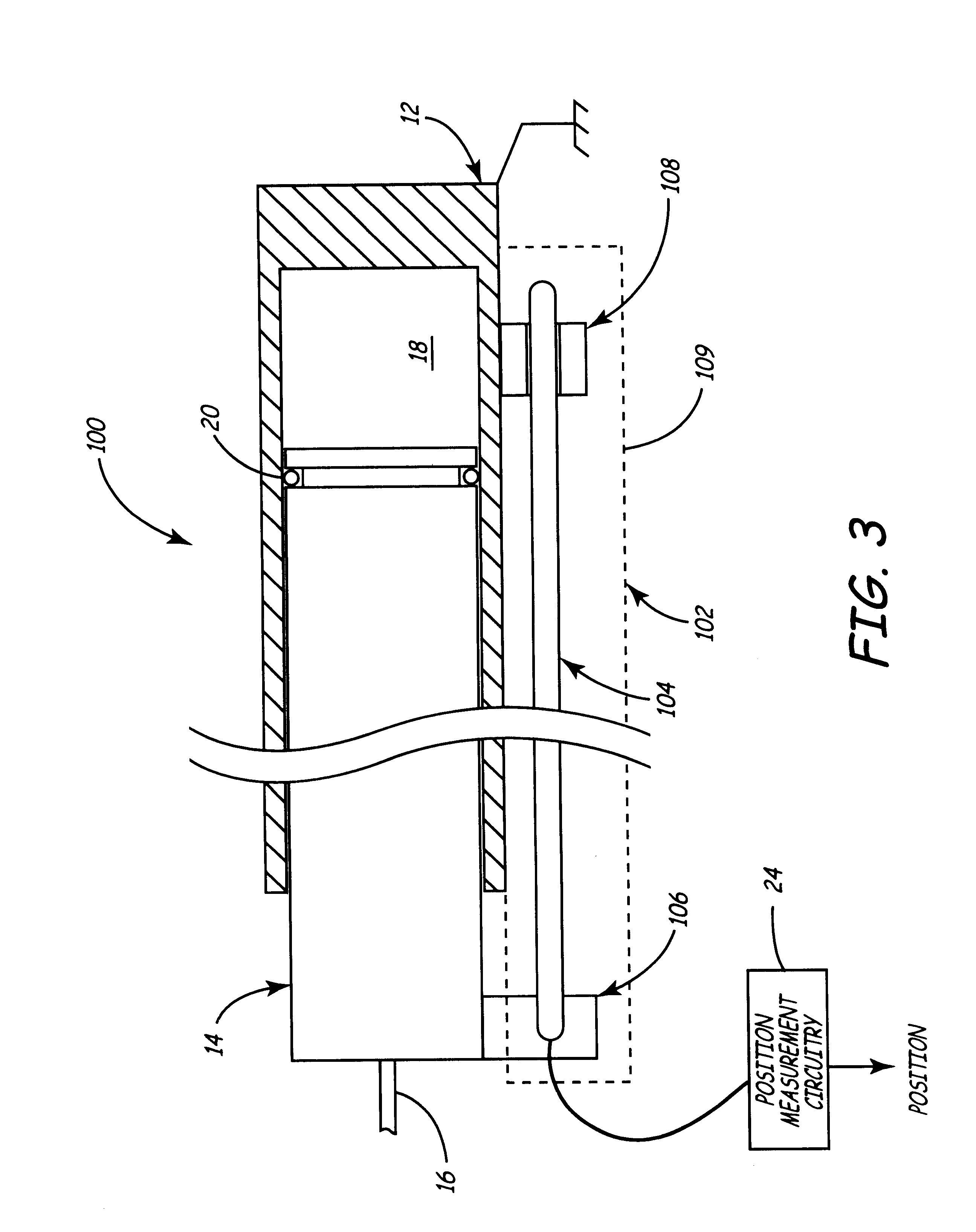patent us6588313 hydraulic piston position sensor. Black Bedroom Furniture Sets. Home Design Ideas