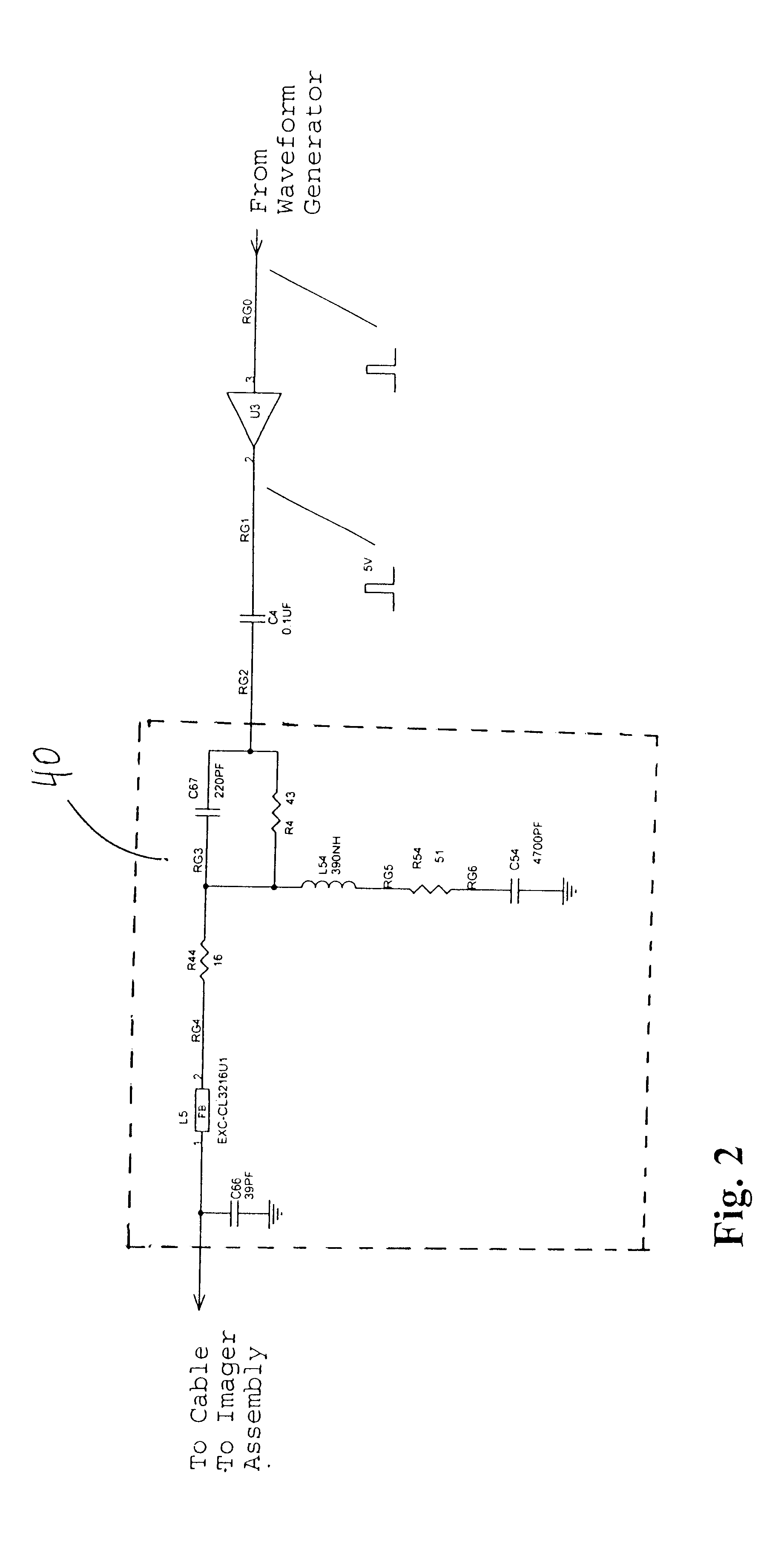 patent us6590470 - cable compensator circuit for ccd video probe