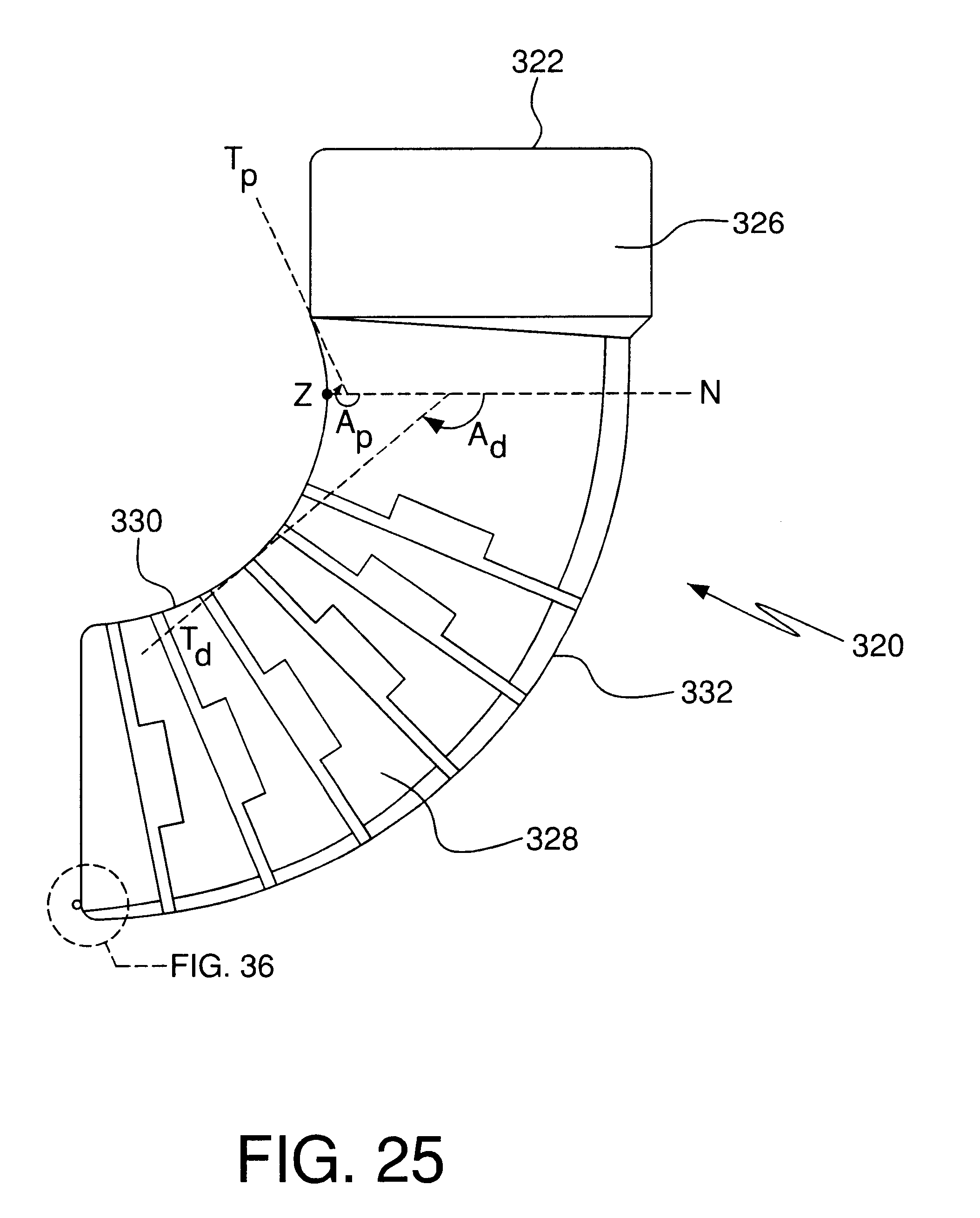 Patent us infinitely selectable angle pipe