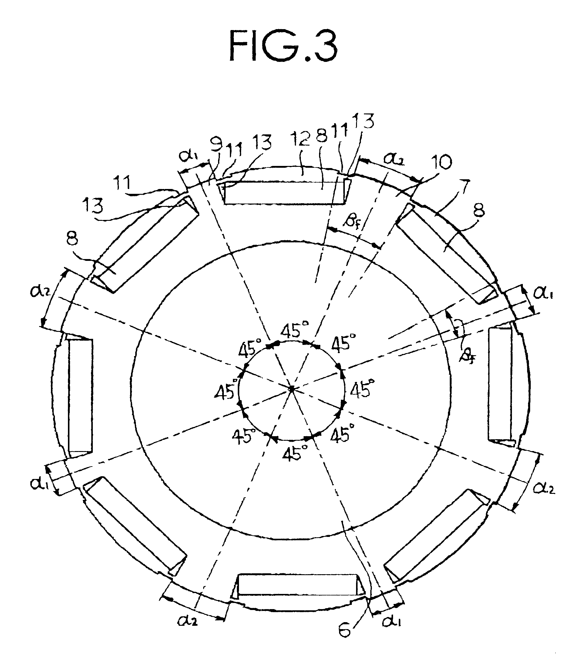 Patent Us6597079 Interior Permanent Magnet Synchronous Motor Google Patents