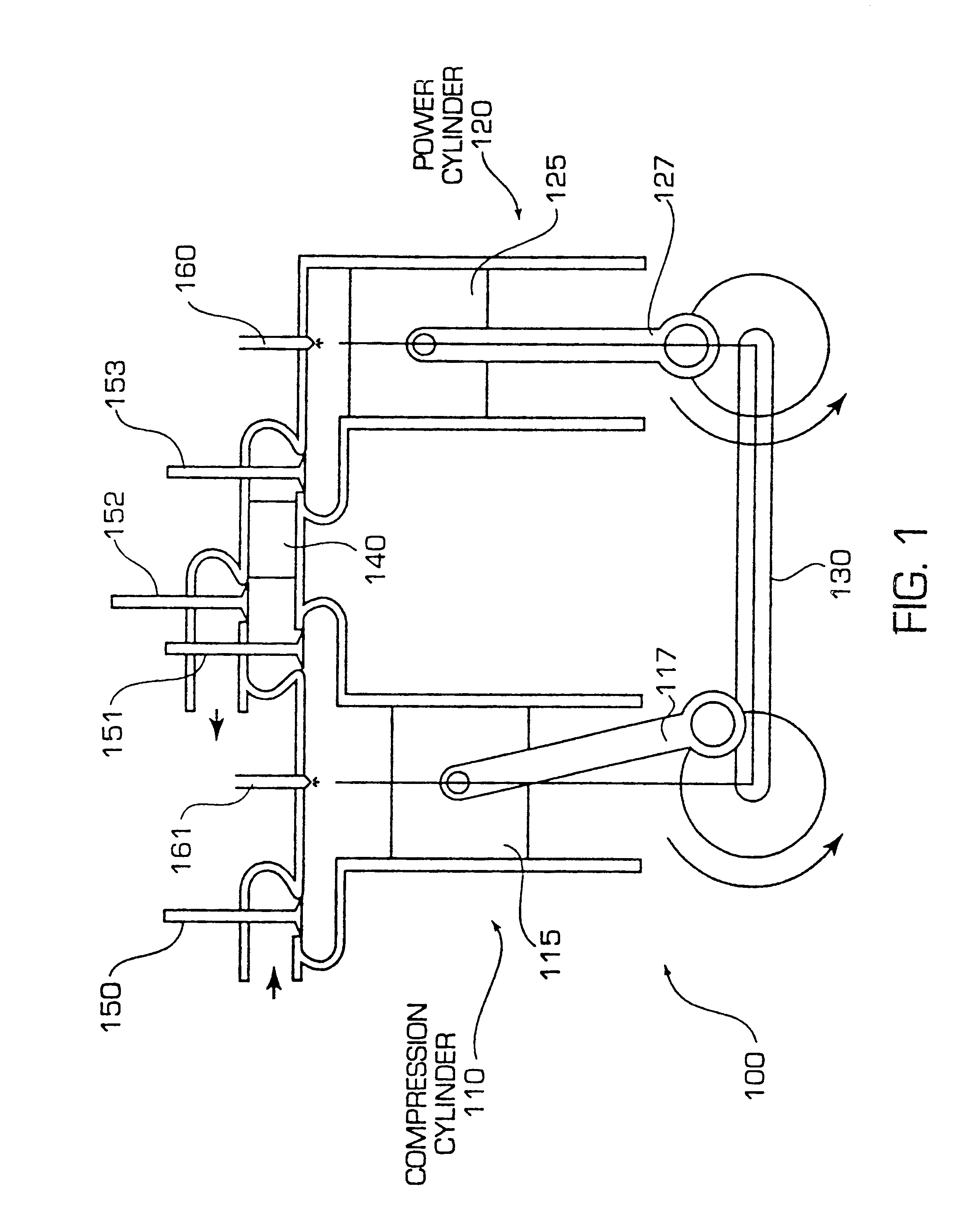 Patent Us6606970 Adiabatic Internal Combustion Engine With Diagram Of A Show How Works Drawing