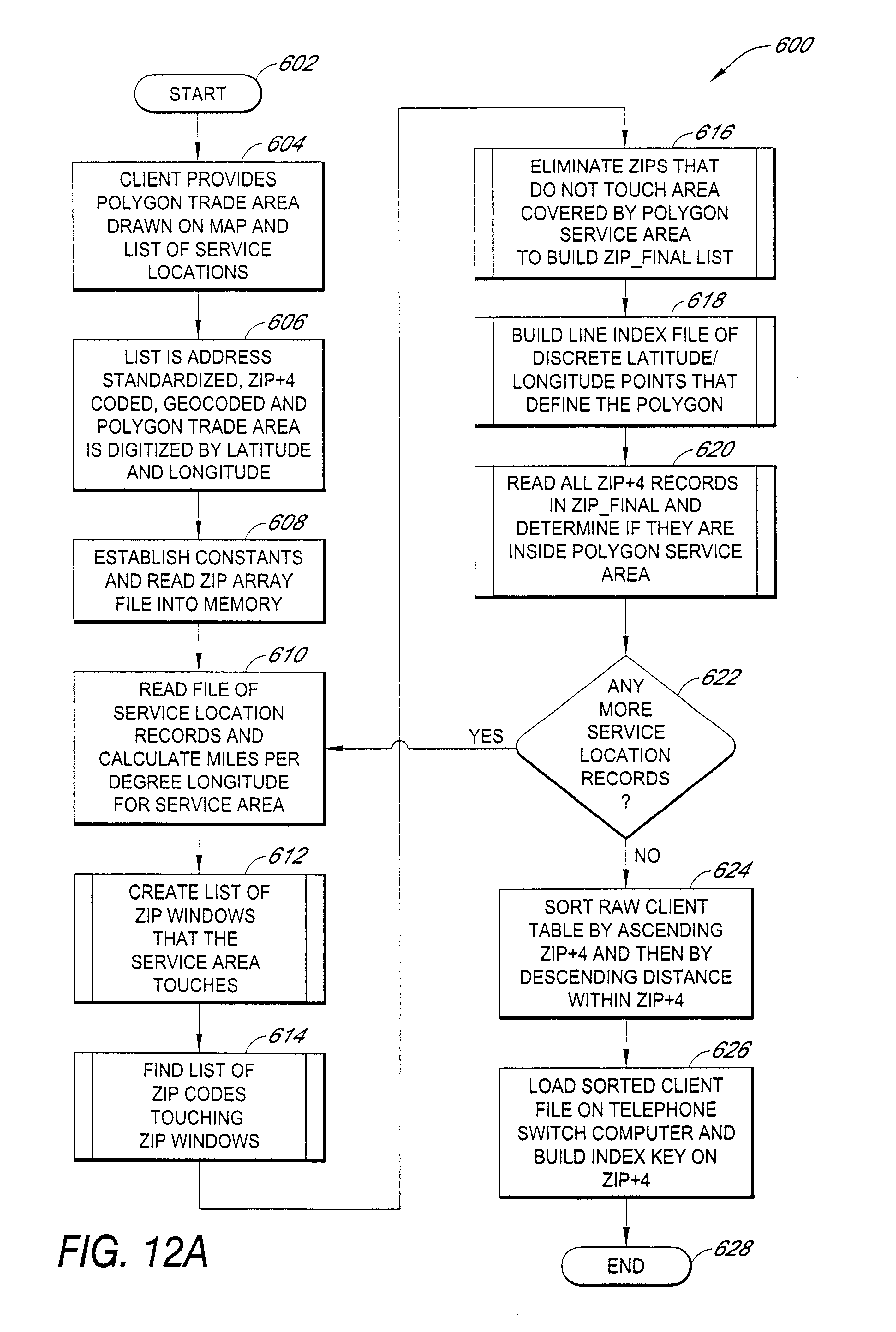 Patent US6608892 - Automatic routing and information system for