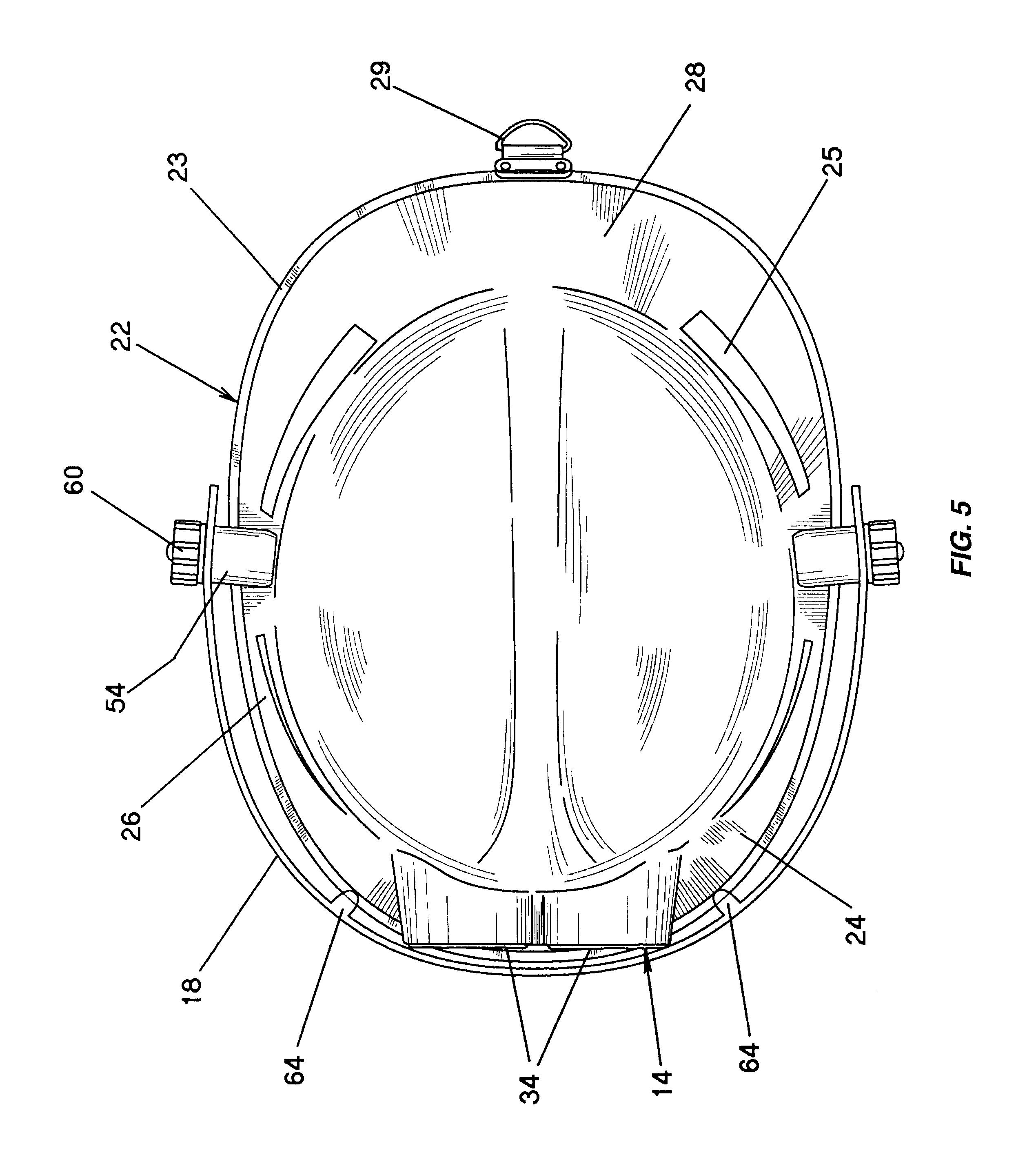 Patent Us6609913 Educational Youth Fireman Helmet