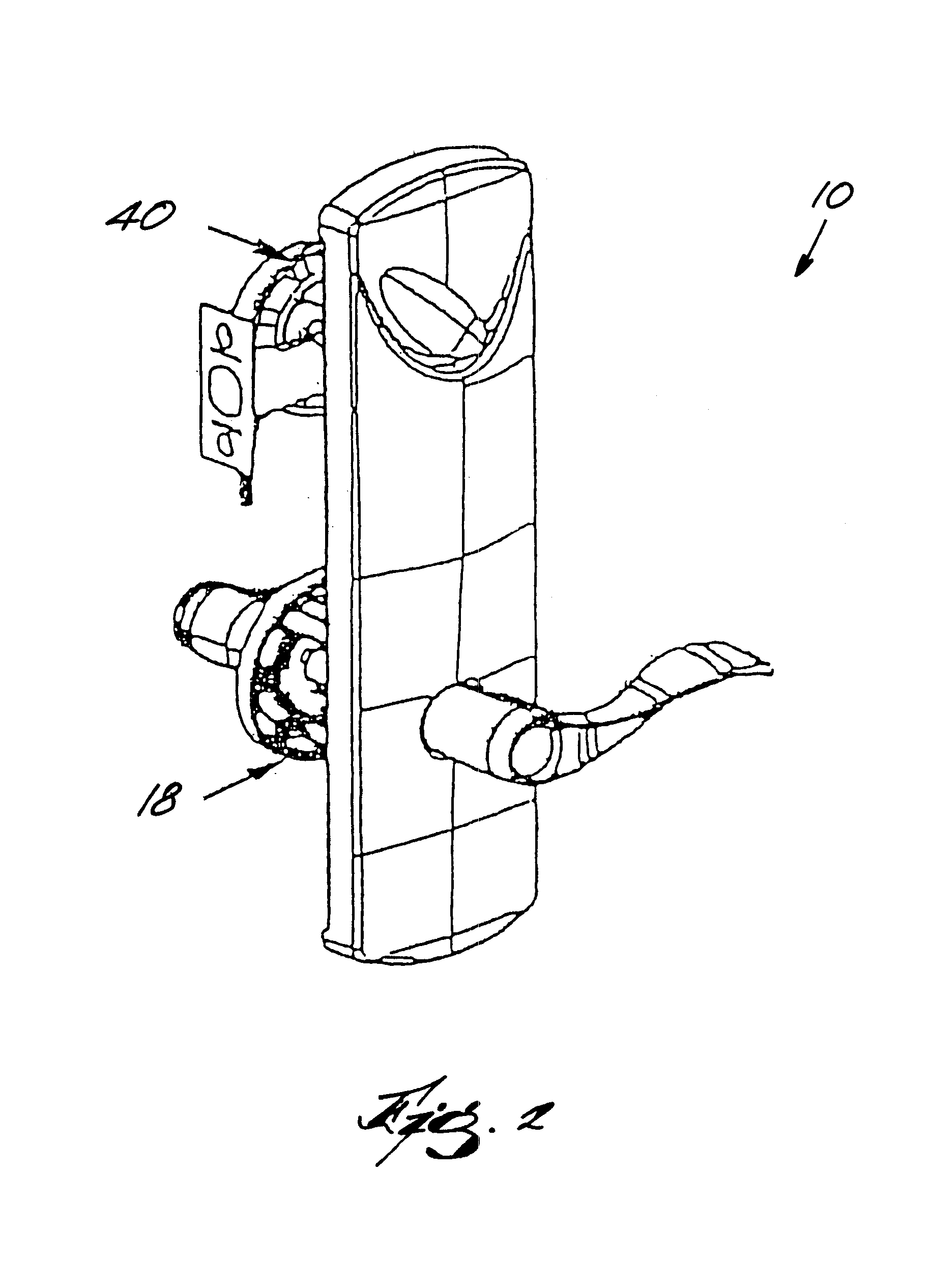 patent us6612141 - interconnected lock with remote locking mechanism