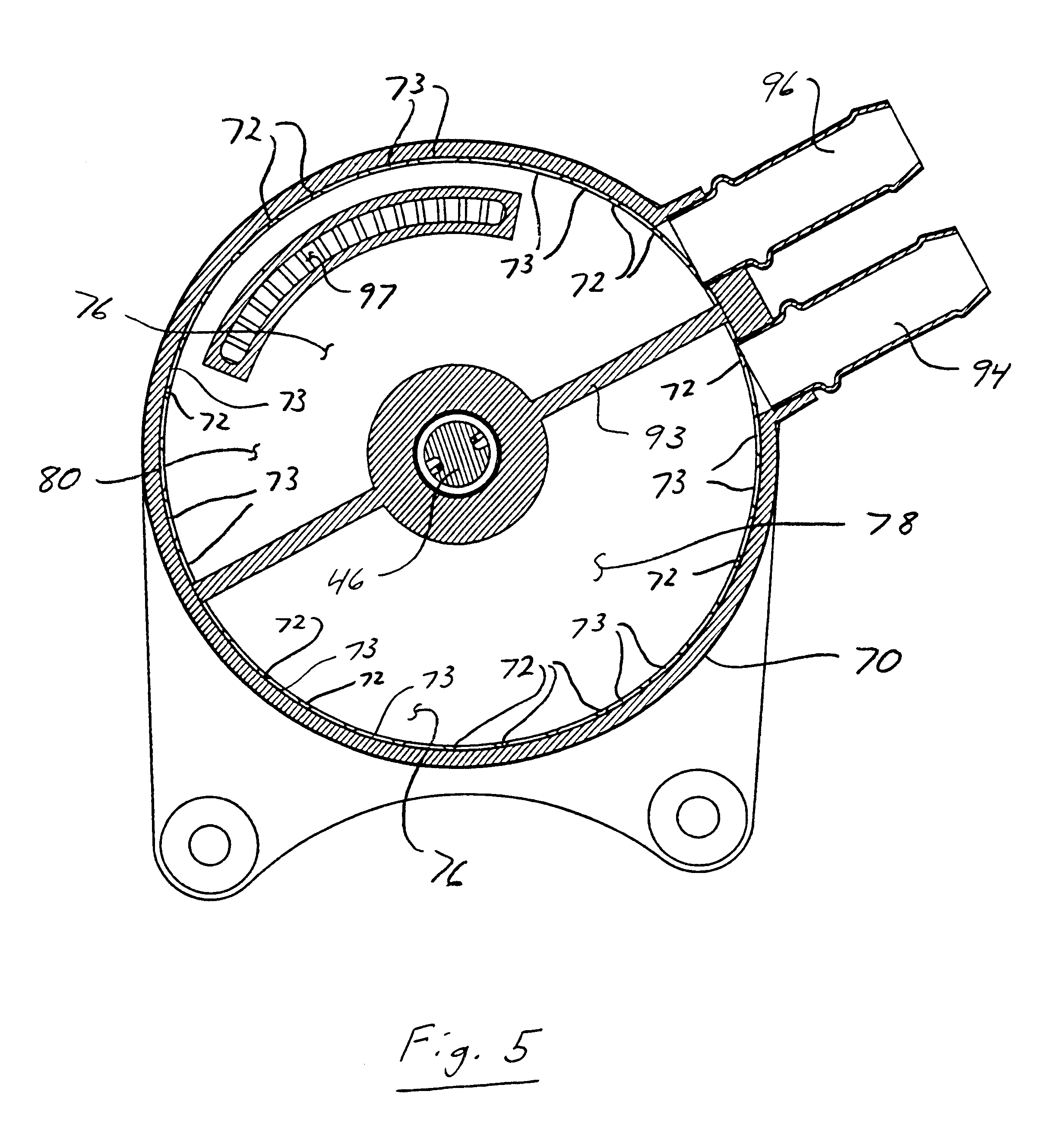 Patent Us6617715 Liquid Cooled Alternator Having Finned Stator Fig Back Of Typical Illustrating Wiring Drawing