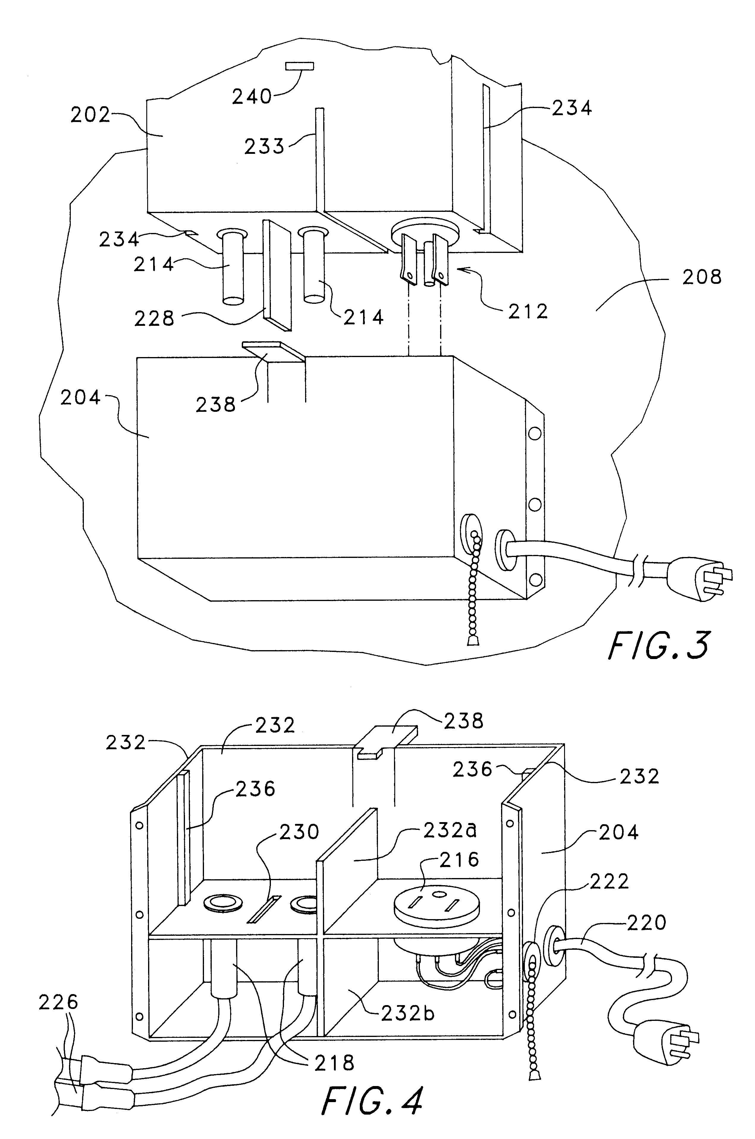 Patent Us6618231 Neon Sign Transformer Module And Receptacle Rewiring Emergency Ballast Wiring Diagram Drawing