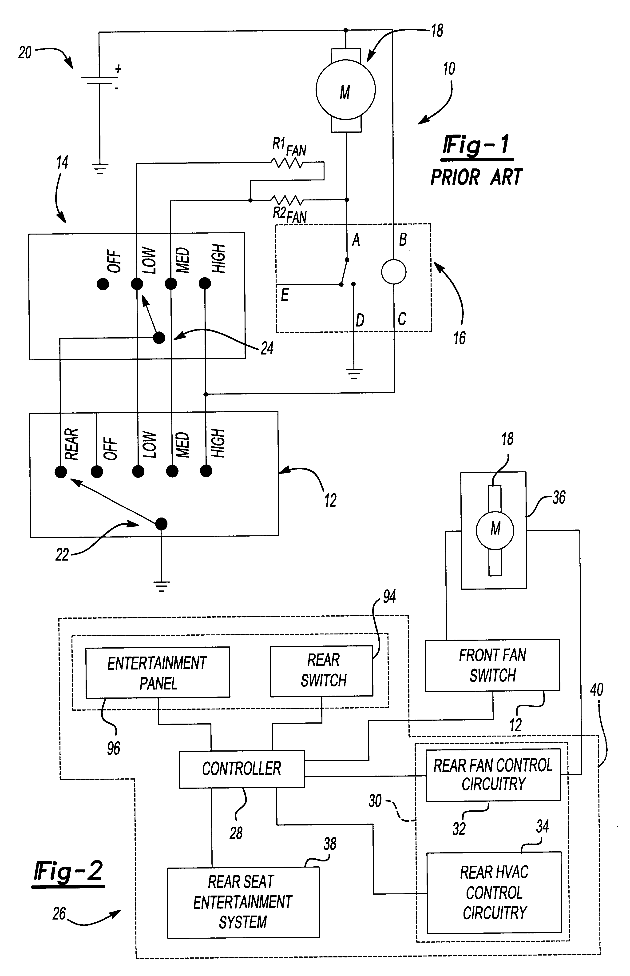 Patent Us6619060 Transient Resistant Non Pulsed Electronic Fan Control Circuit Drawing