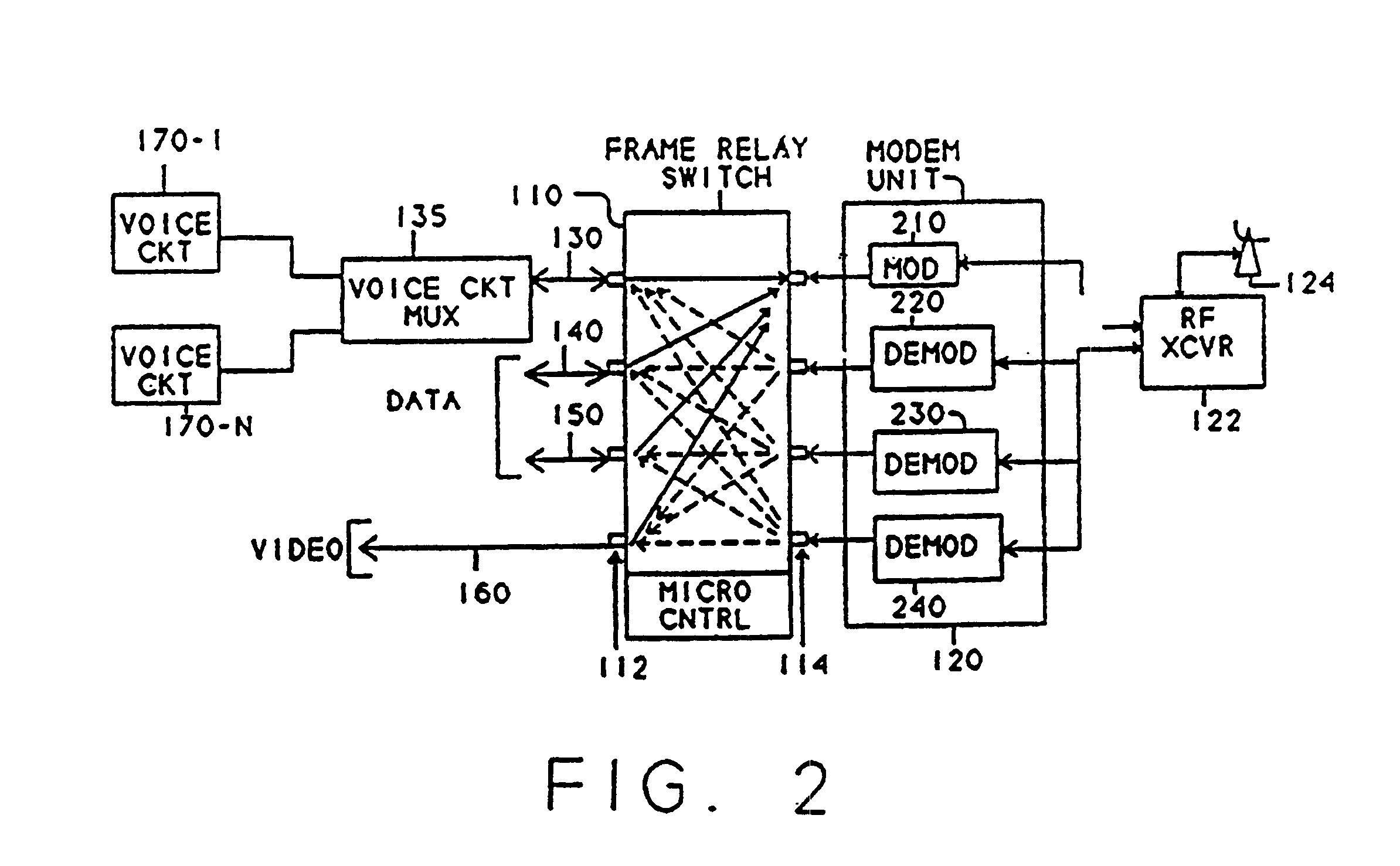 patent us frame relay protocol based multiplex switching patent drawing