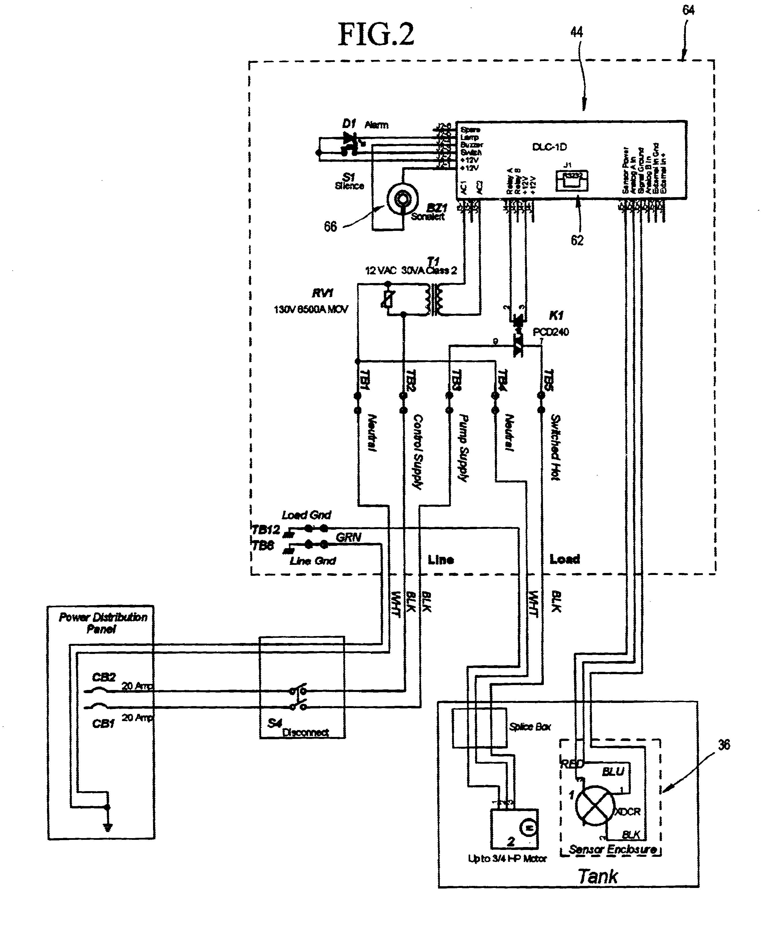 Septic Pump Wiring Diagram : Septic tank wiring schematic clearstream