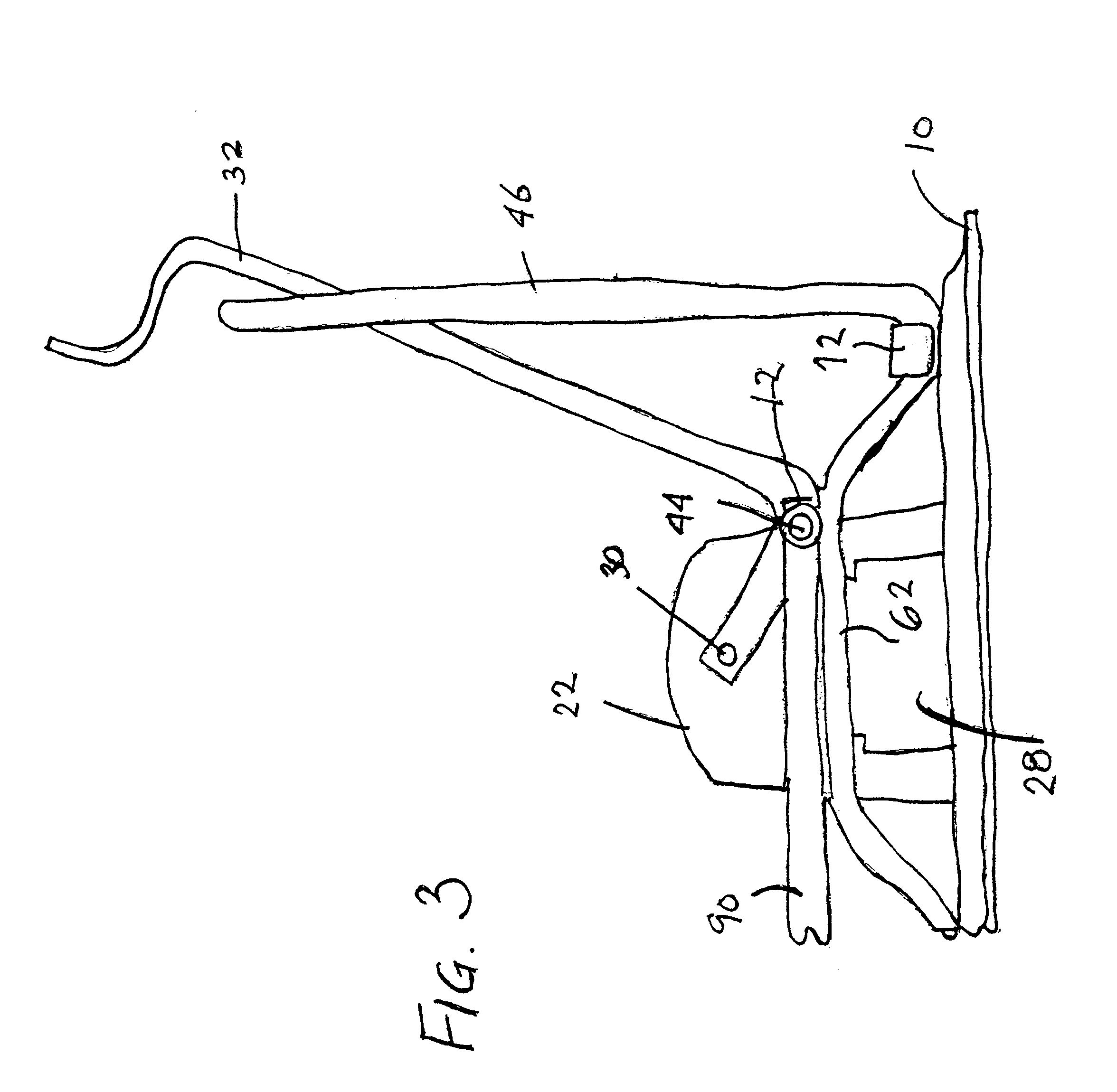 Three-ring Binder With Actuating Crank