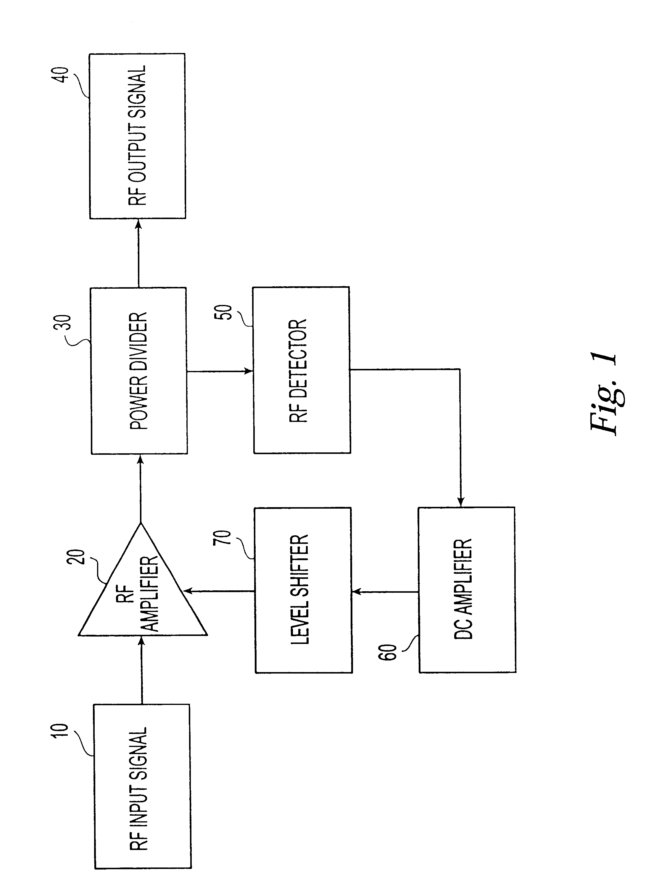Patent Us6639466 Amplifier Bias Adjustment Circuit To Maintain Figure 1 Diagram For Level Shifter Drawing