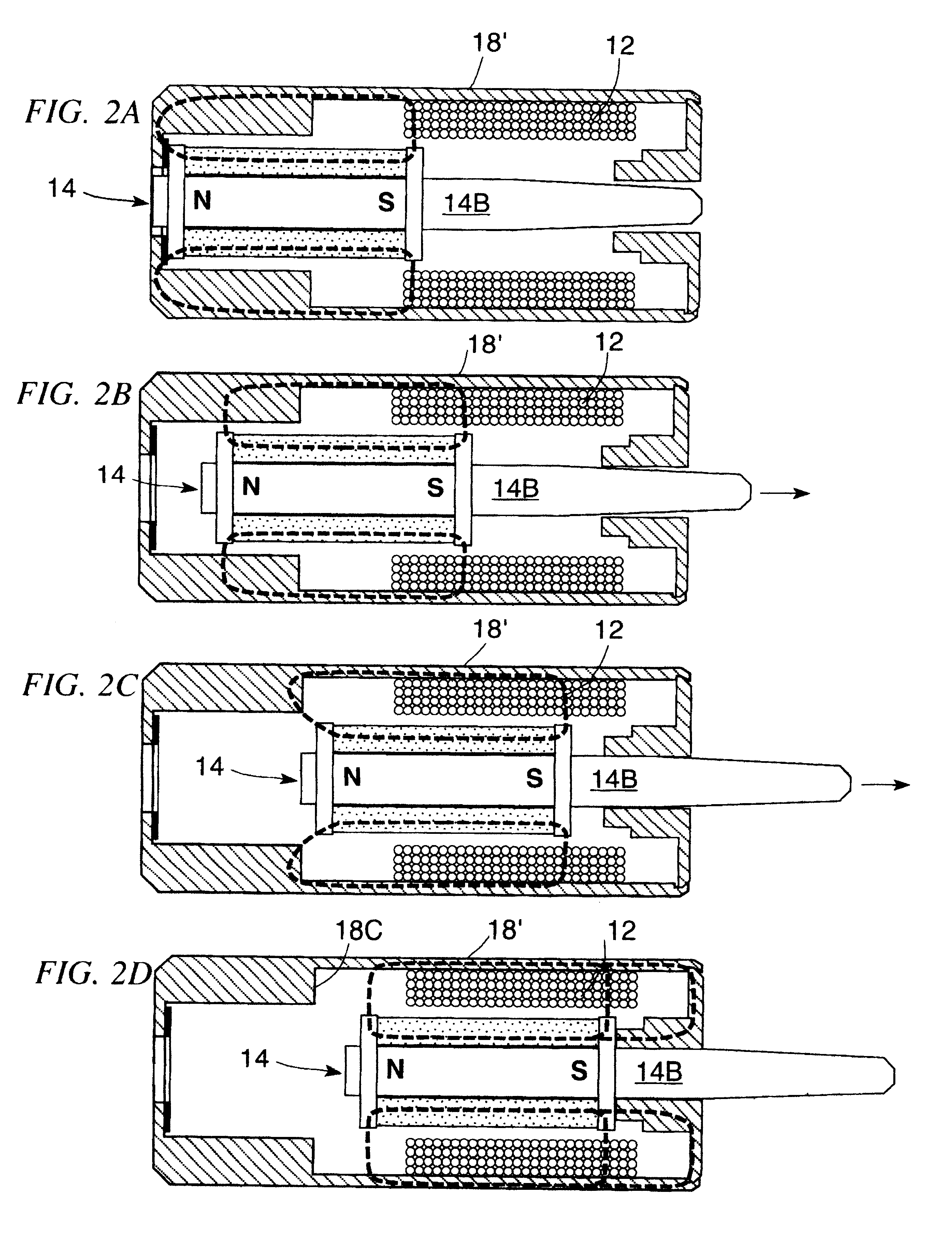 Patent US6639496 - Bistable long-stroke electro-magnetic mechanical ...
