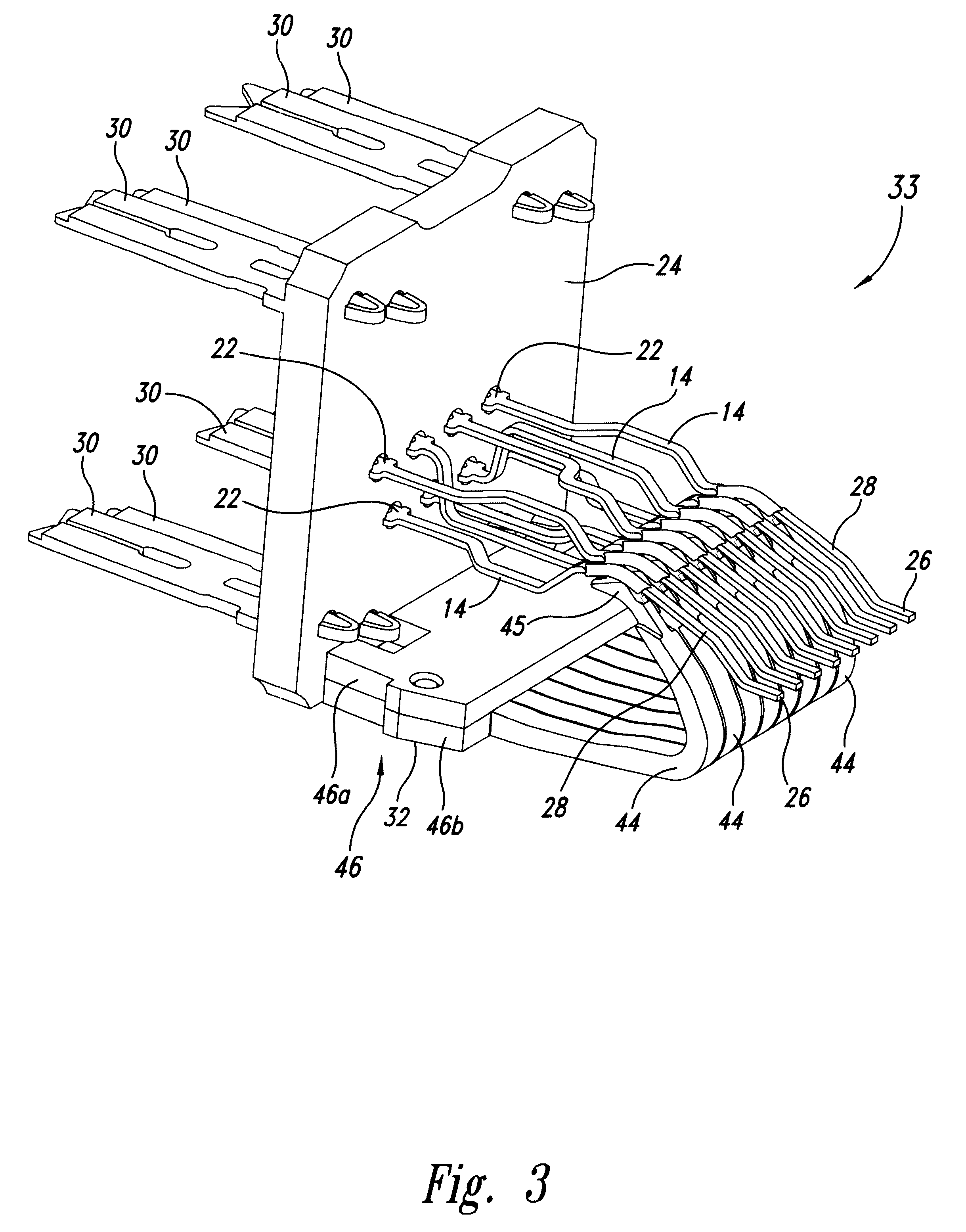patent us6641443 electrical connector jack patents Leviton RJ45 10 Pack Jack patent drawing