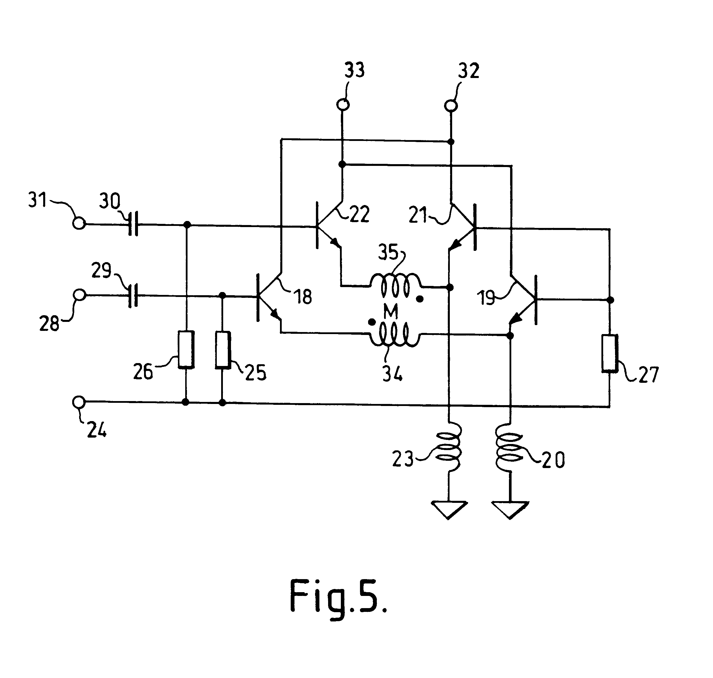 patent us6642787 - differential amplifier with two long-tailed pairs of transistors