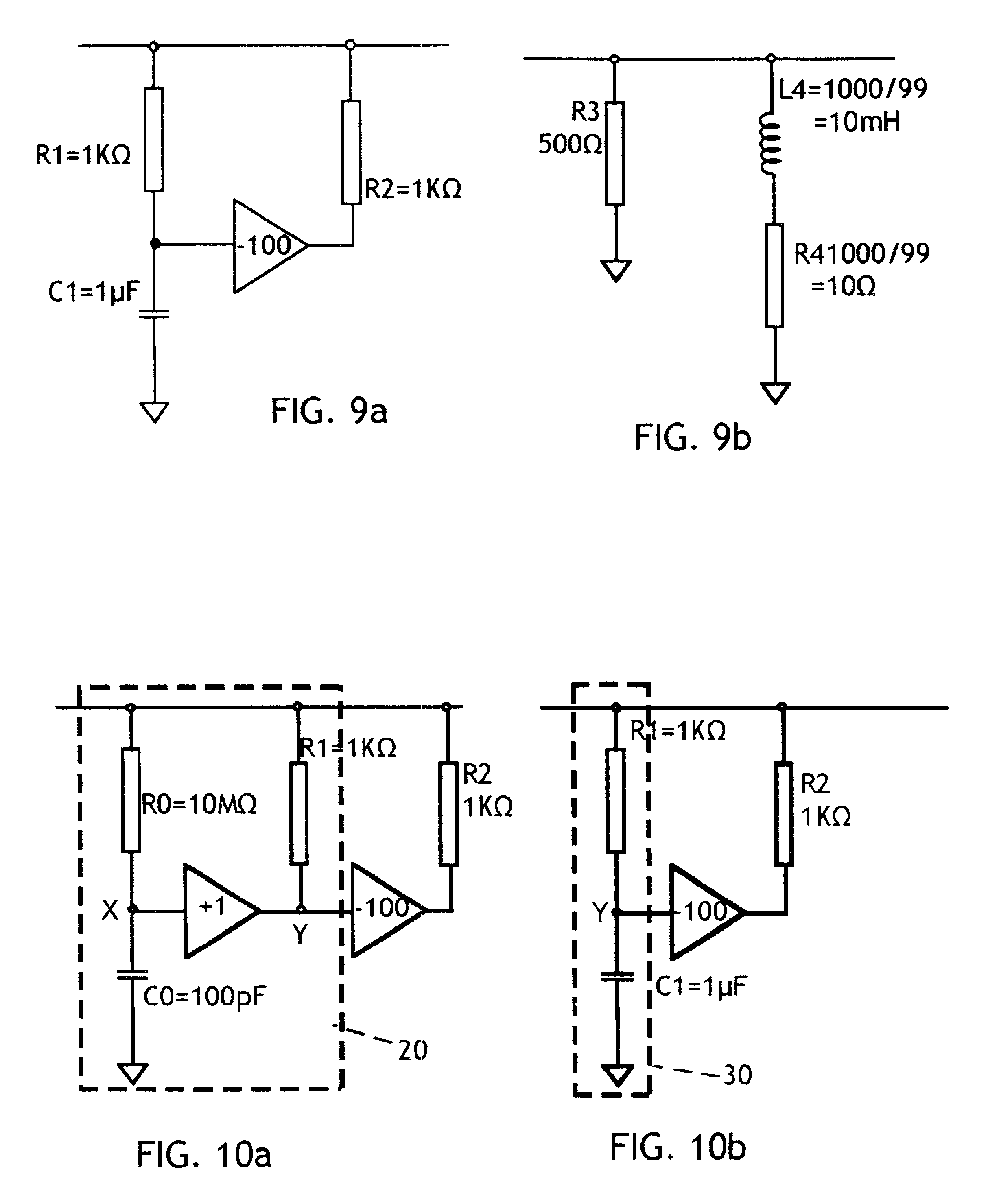 Patent Us6646463 Impedance Emulator Google Patents Simple Inductor Circuit Drawing
