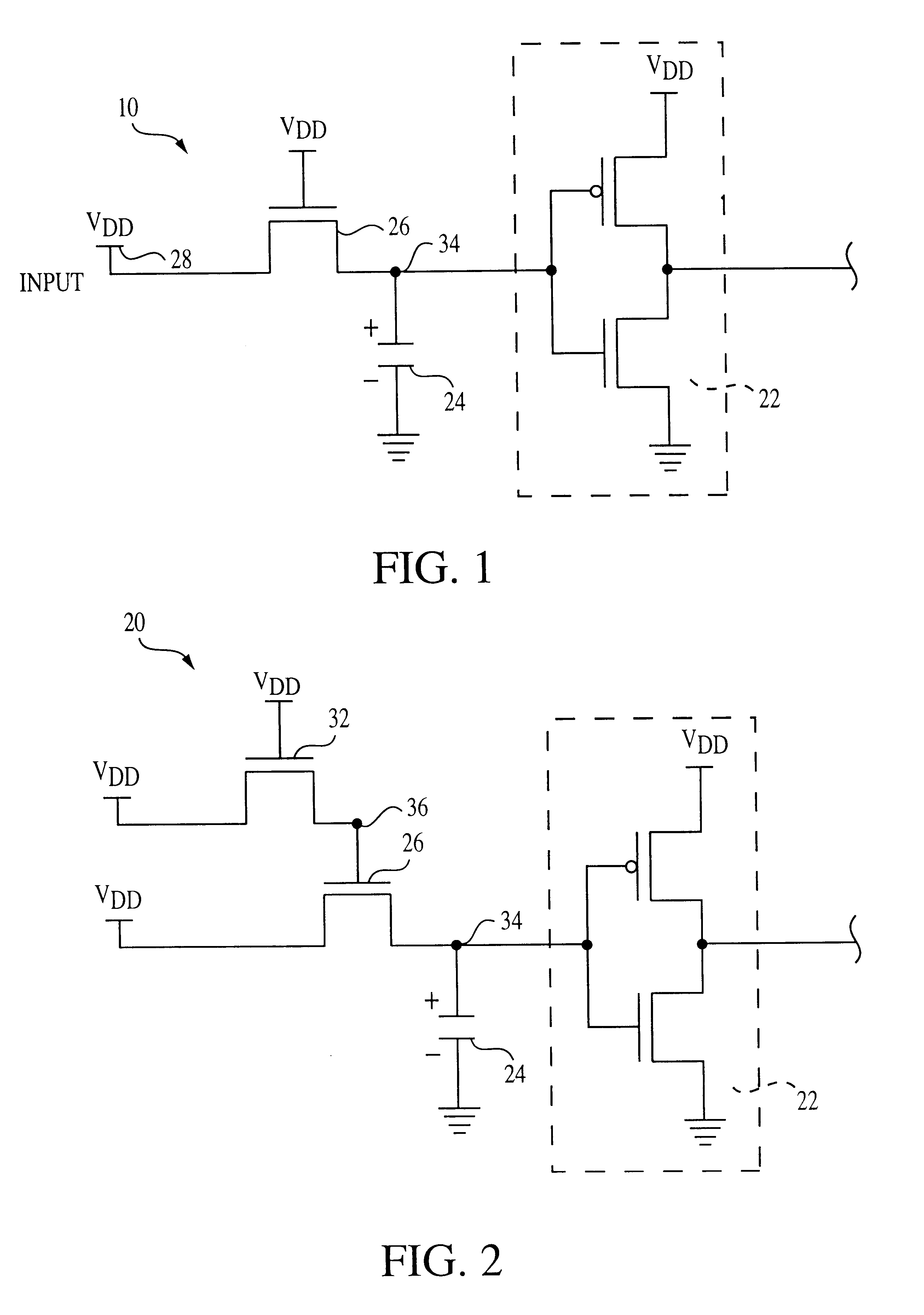 Patent Us6646474 Clocked Pass Transistor And Complementary Logic Circuits Drawing