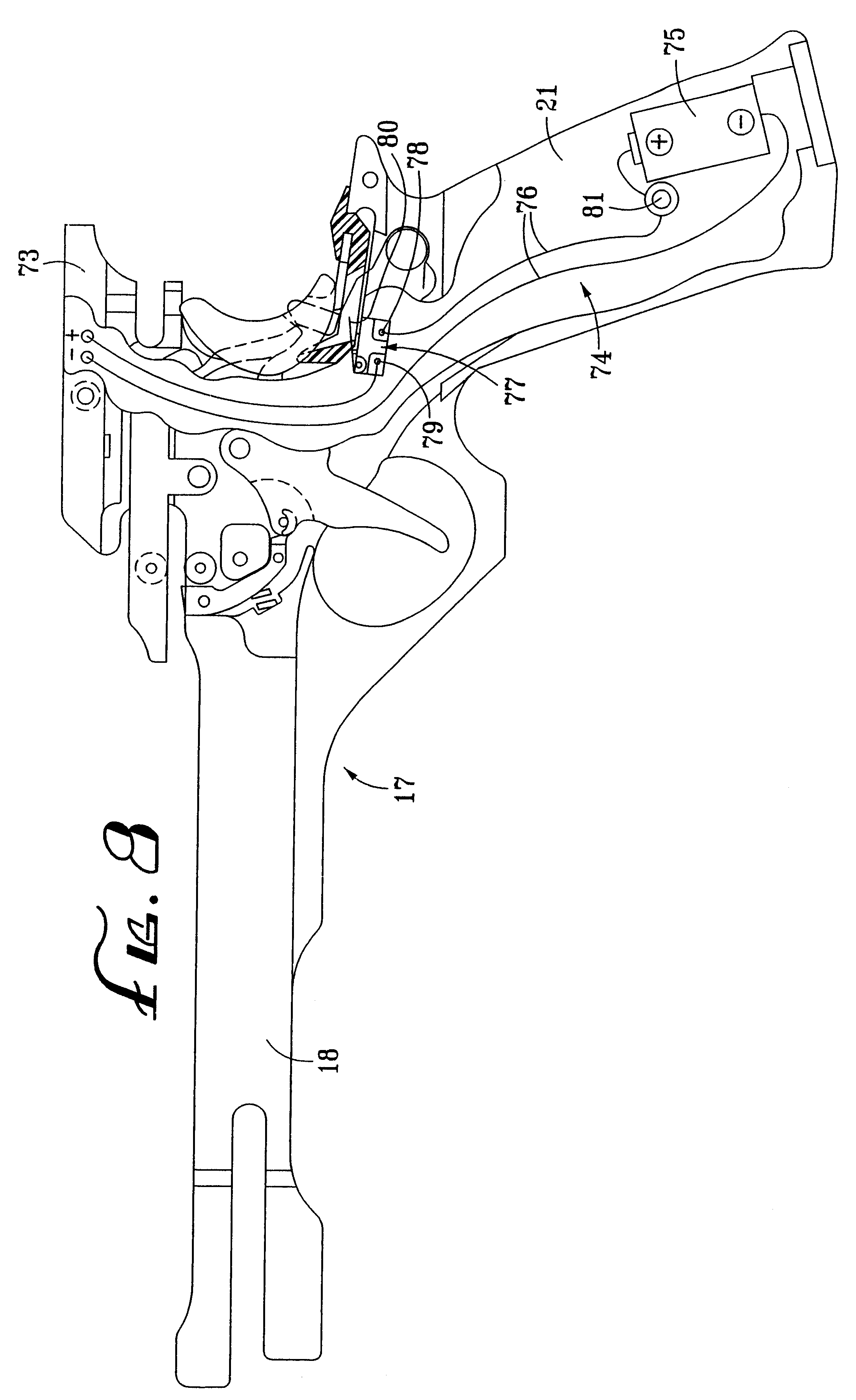 patent us6650669 laser activation circuit for crossbows Weider Crossbow Parts Diagram patent drawing