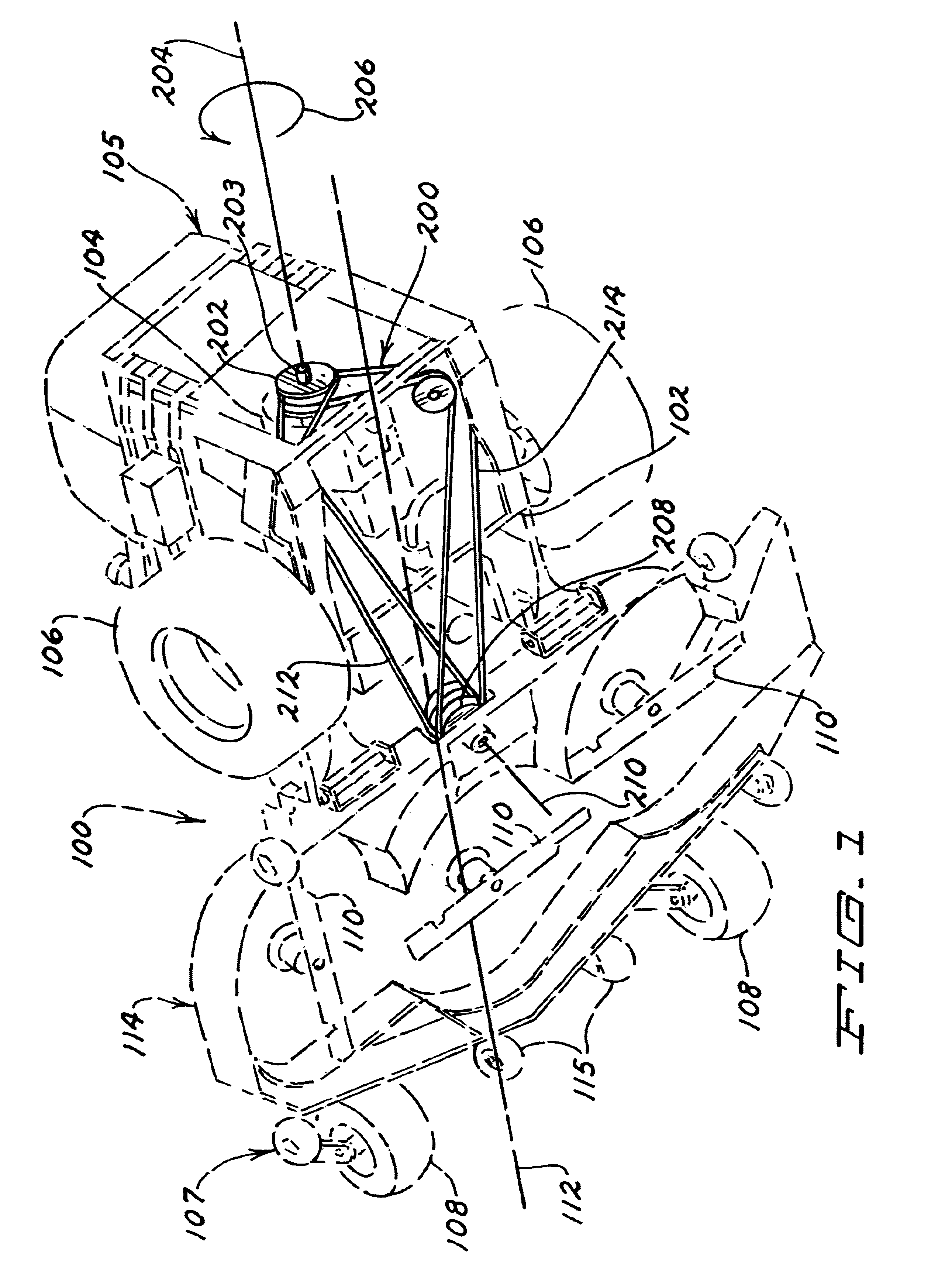 Patent Us6651413 Multiple Belt Mule Drive Apparatus And