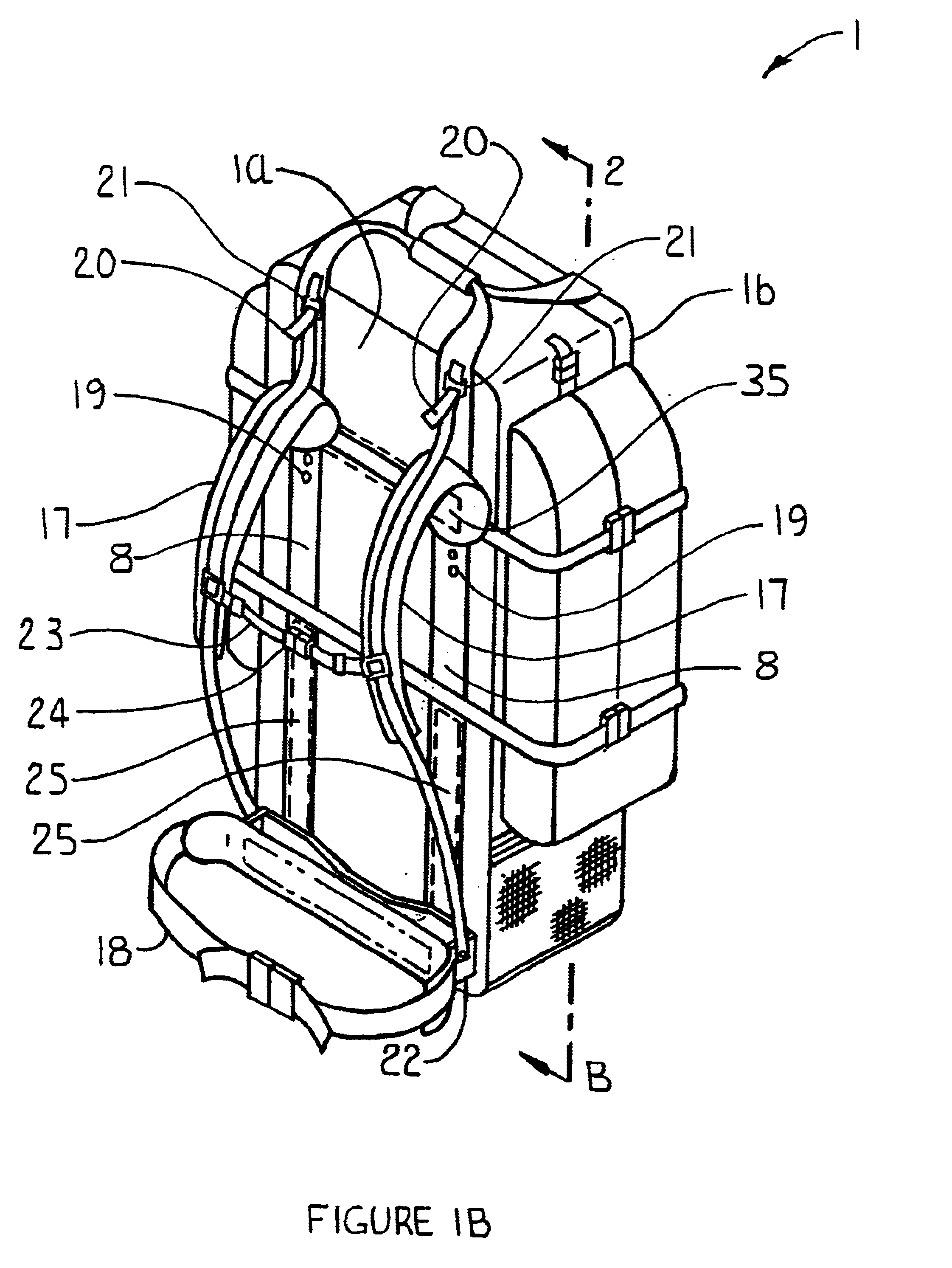 Patent Us6651853 Backpack Frame Suspension Seat And