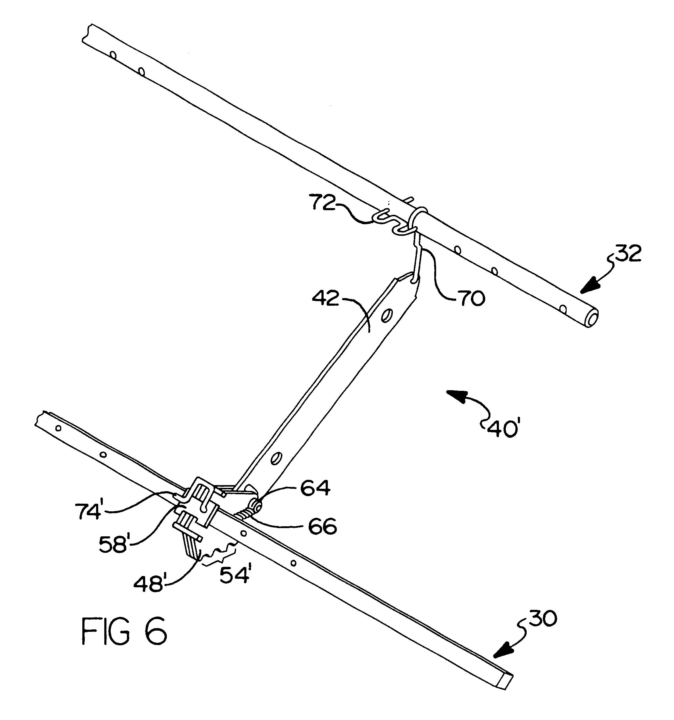 Patent Us6655732 Multiple Position Leg Rest Mechanism For A  sc 1 st  Centerfieldbar.com & Lazy Boy Reclining Sofa Replacement Parts | Centerfieldbar.com islam-shia.org