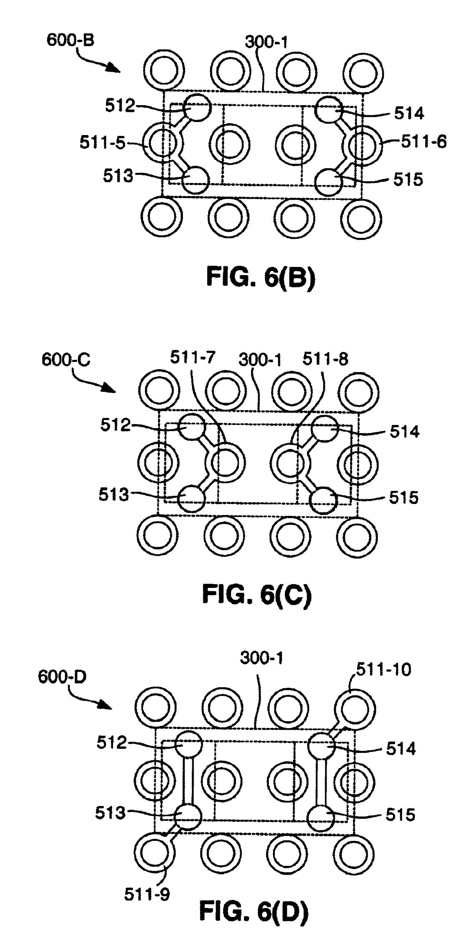 patent us6657133 - ball grid array chip capacitor structure