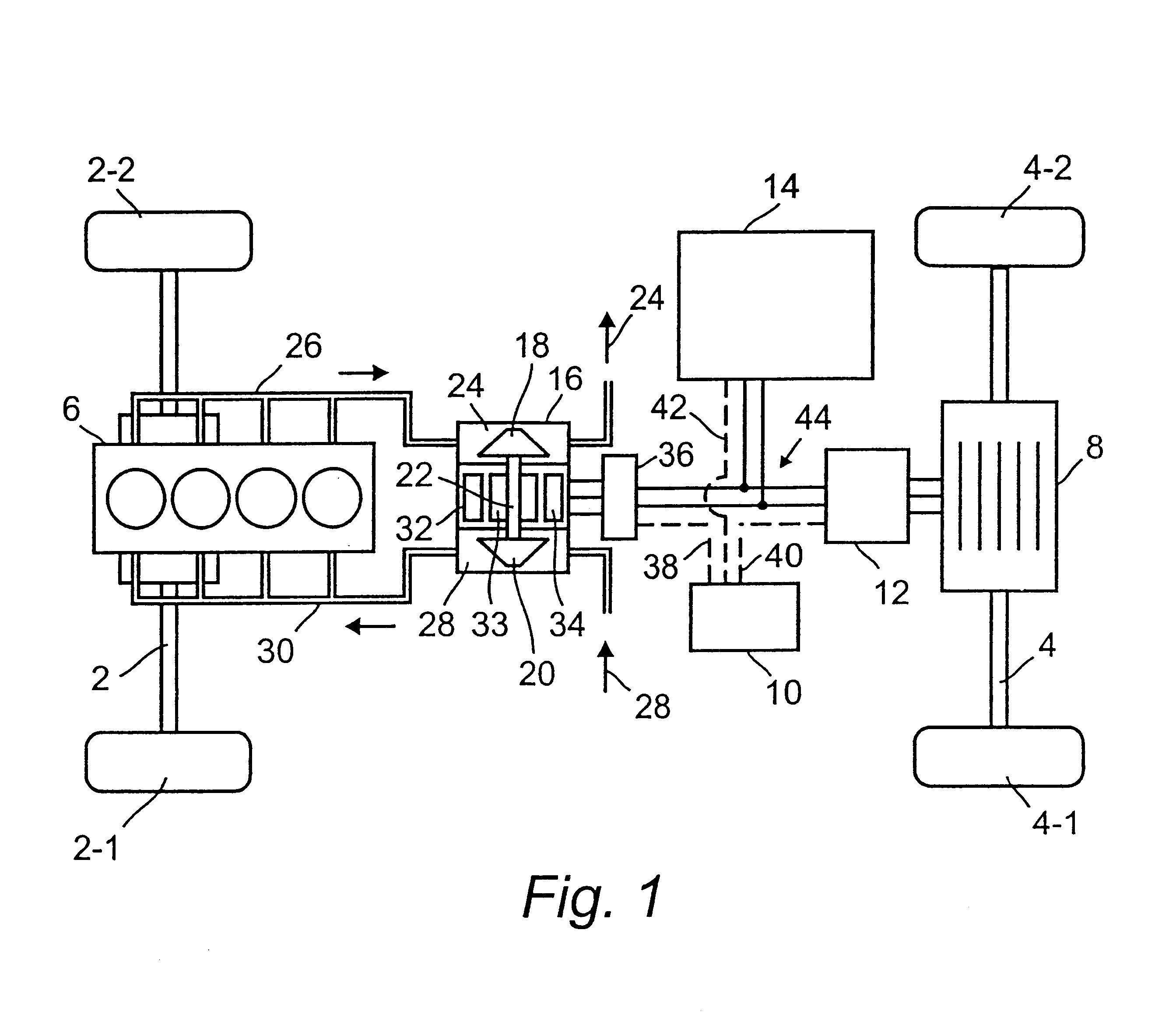 Electric Turbocharger Patents: Hybrid Drive For A Motor Vehicle With