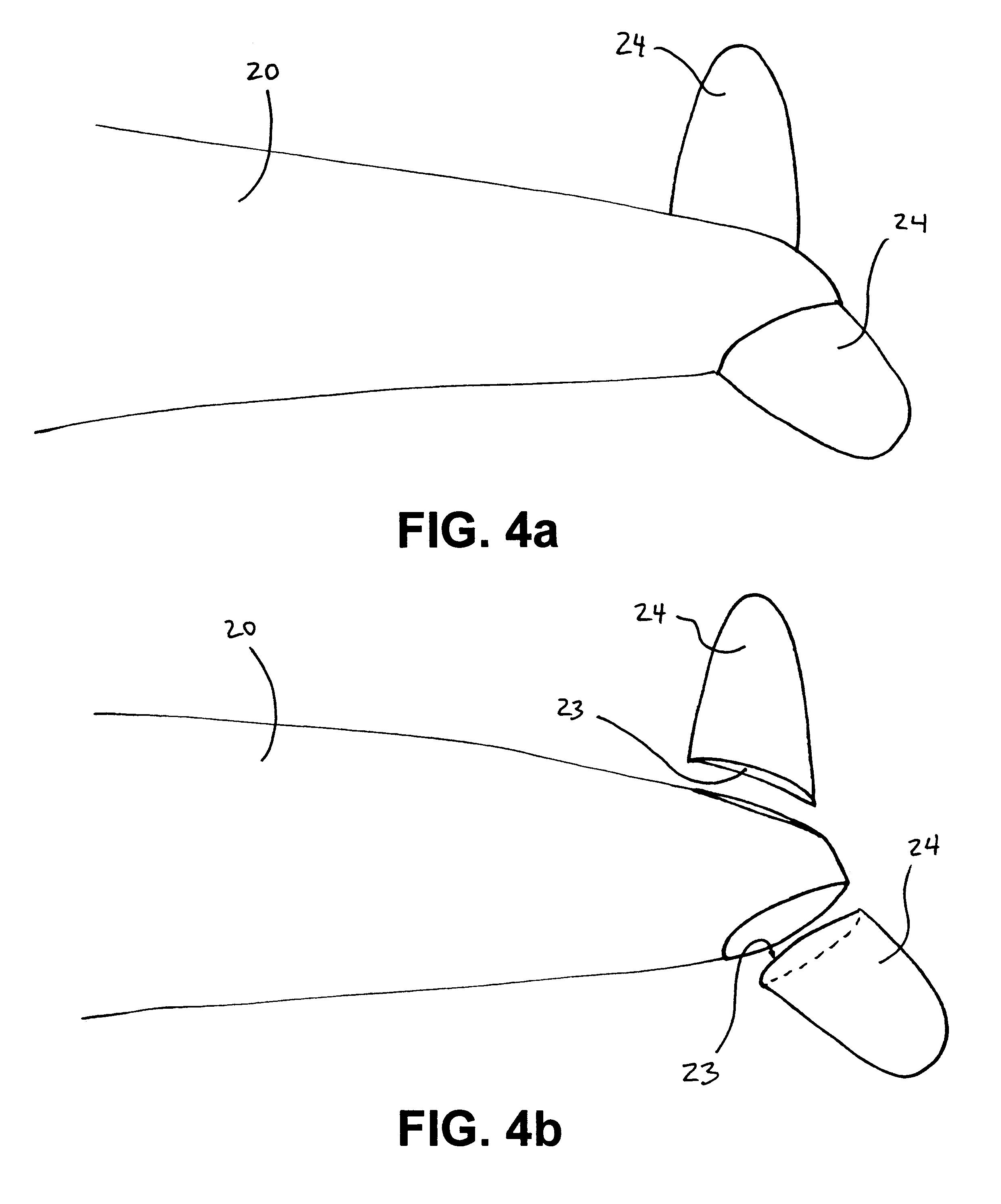 patent us6663050 aircraft kite patents Hollow Fiberglass Poles patent drawing