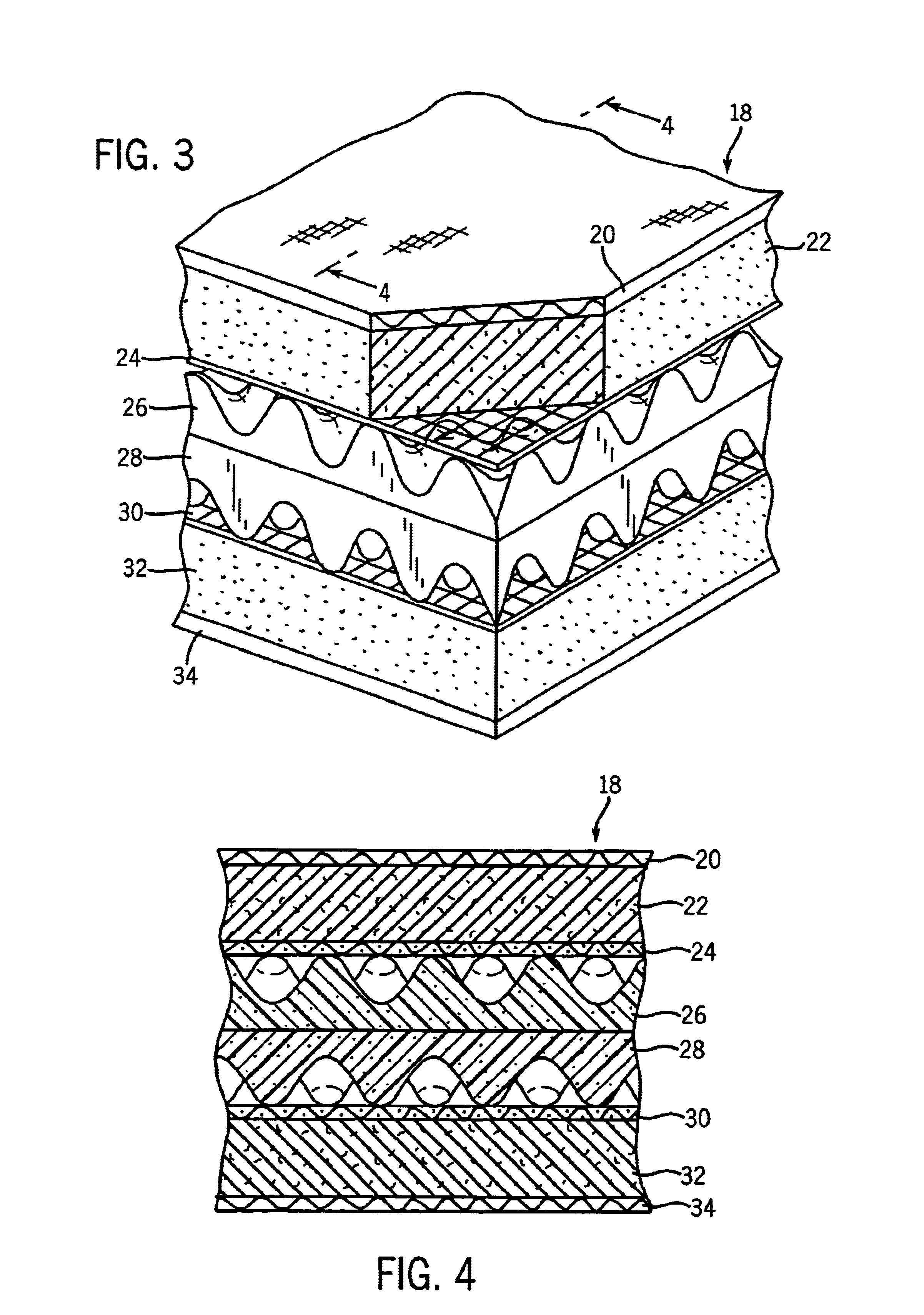 Patent Us6668409 Convoluted Foam Futon Mattress Google