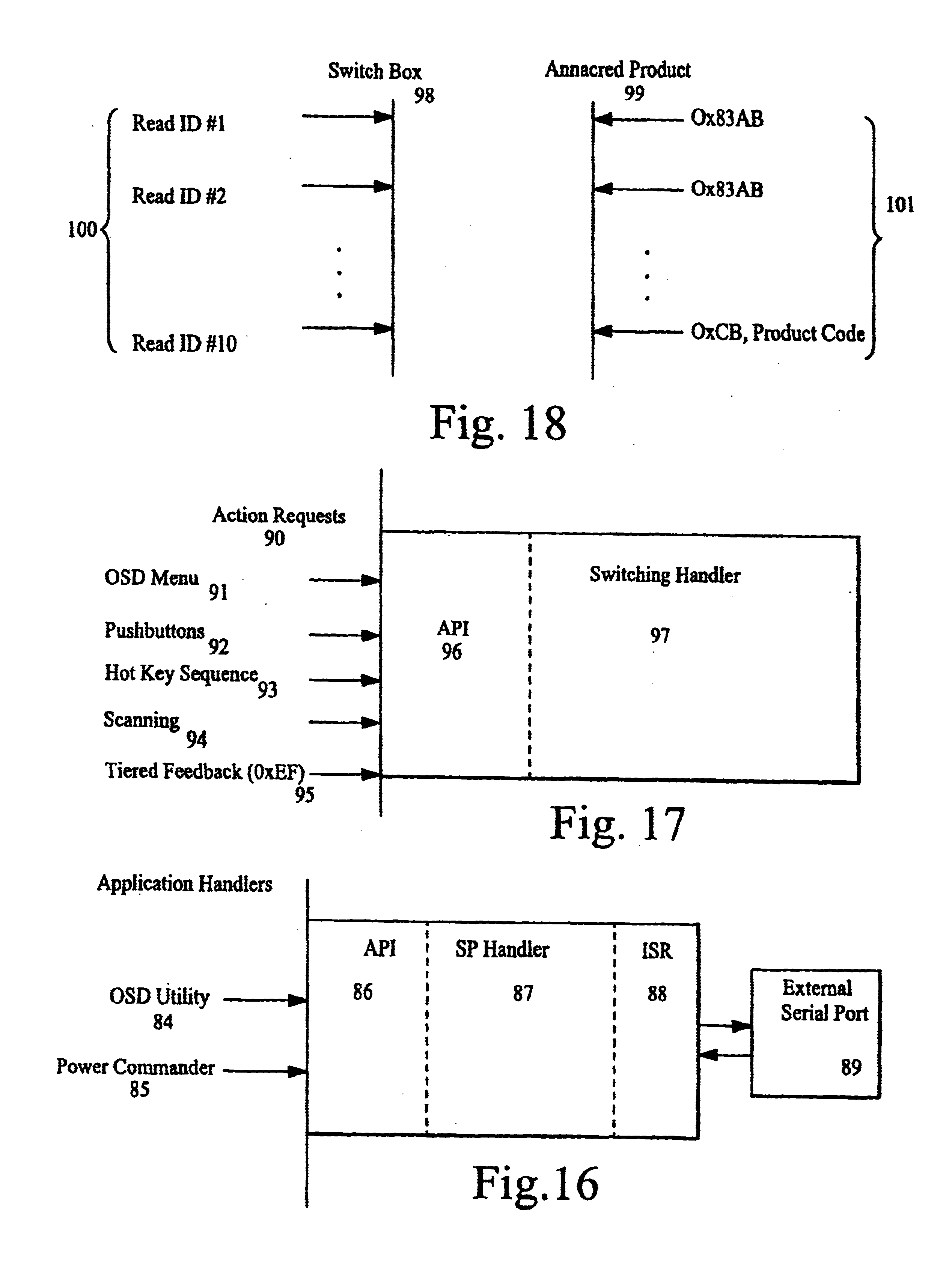 Patent Us6671756 Kvm Switch Having A Uniprocessor That Accomodate Array Connected To Port 1 Interrupter 3 Drawing