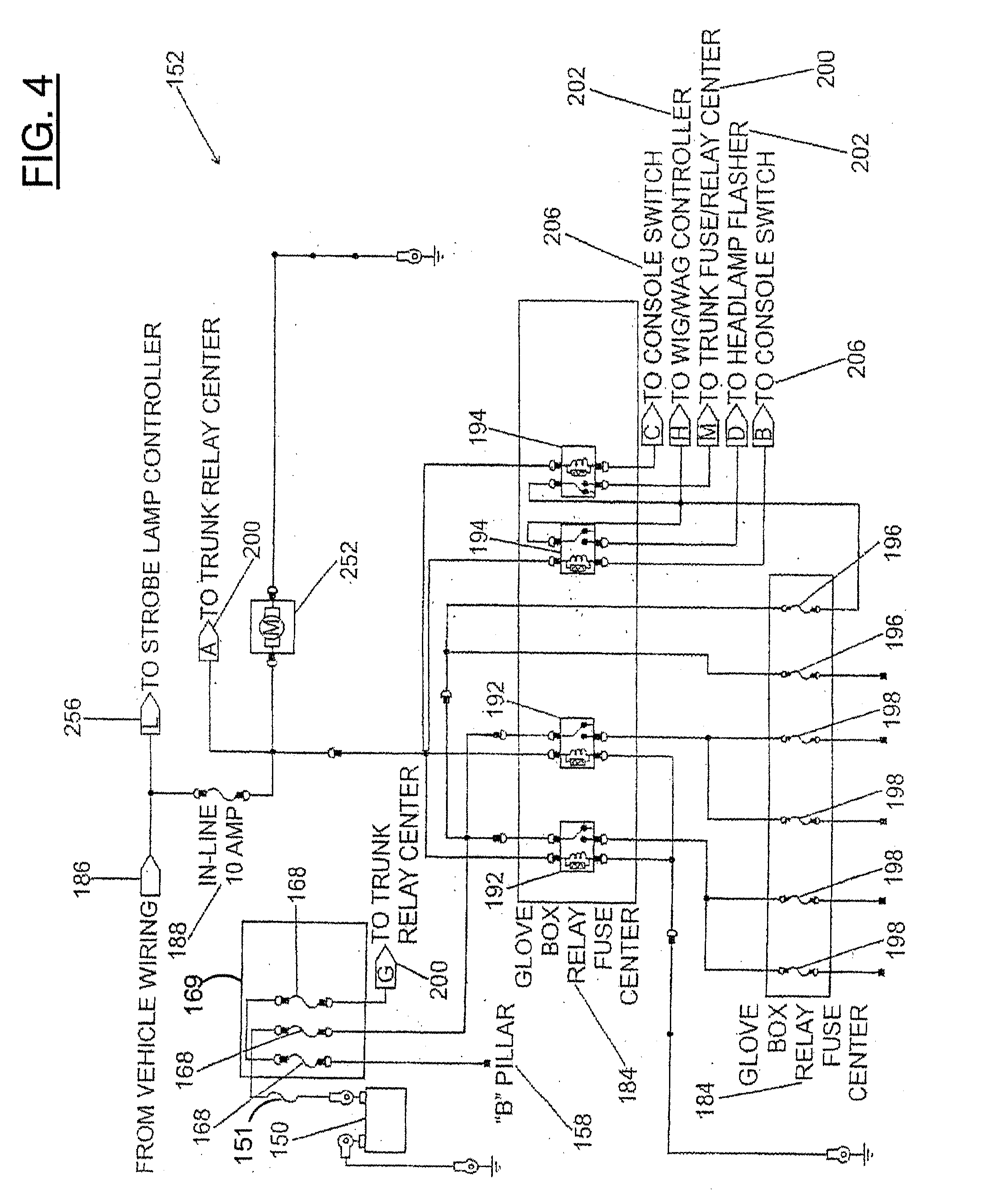 Patent us emergency vehicle wiring harness and