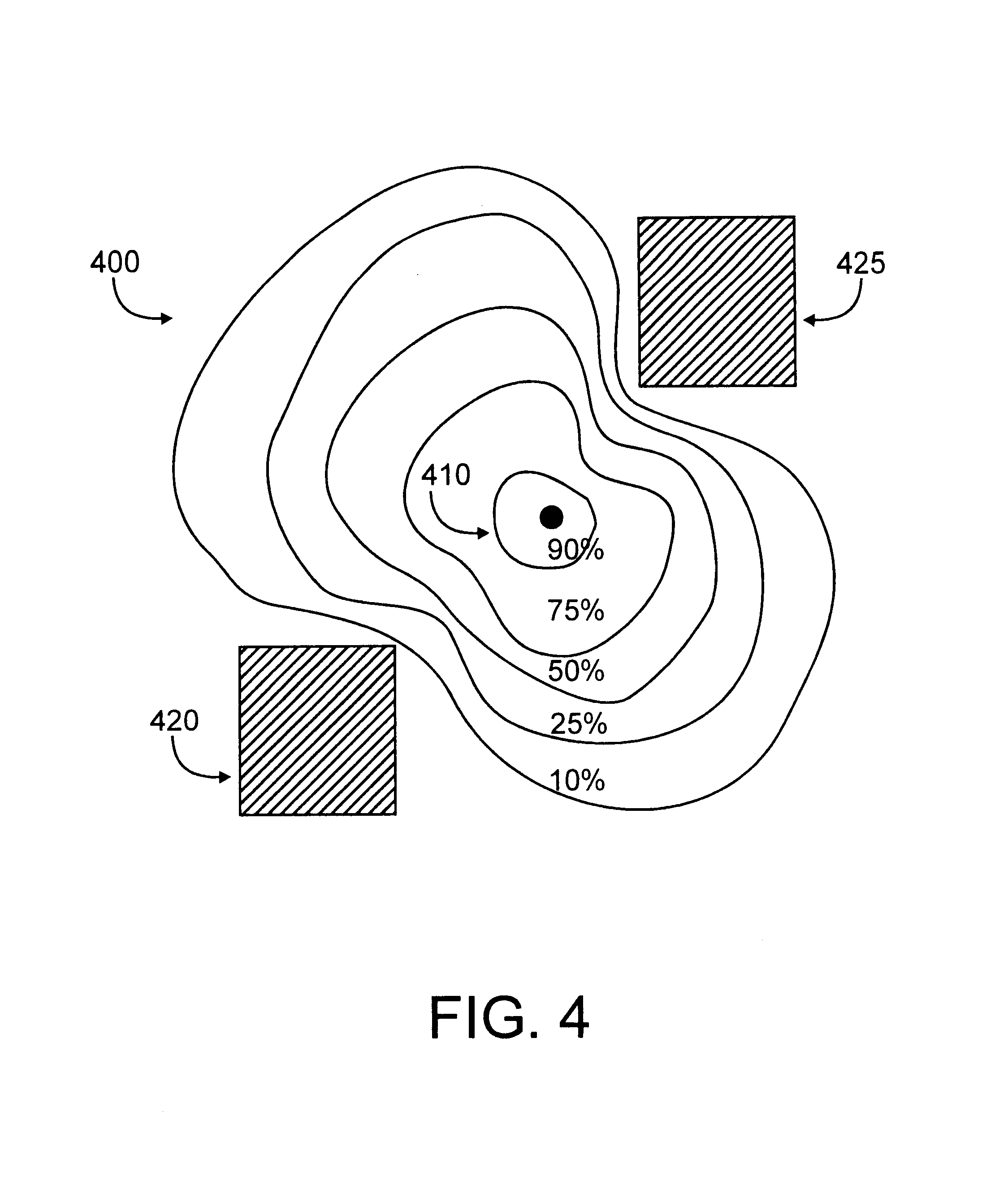 patent us6674403 - position detection and location tracking in a wireless network