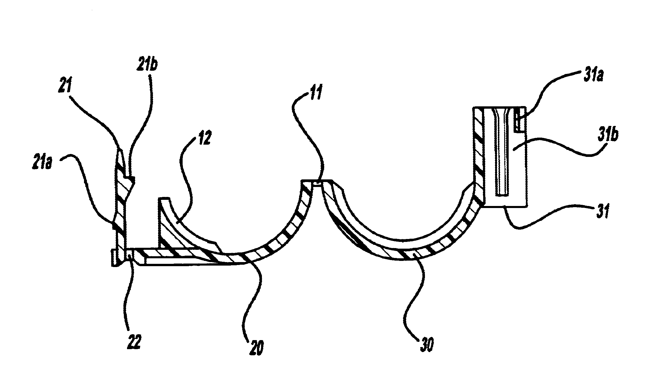 Patente Us6682026 Clamp For Wire Harness Google Patentes Wiring Clamps Patent Drawing