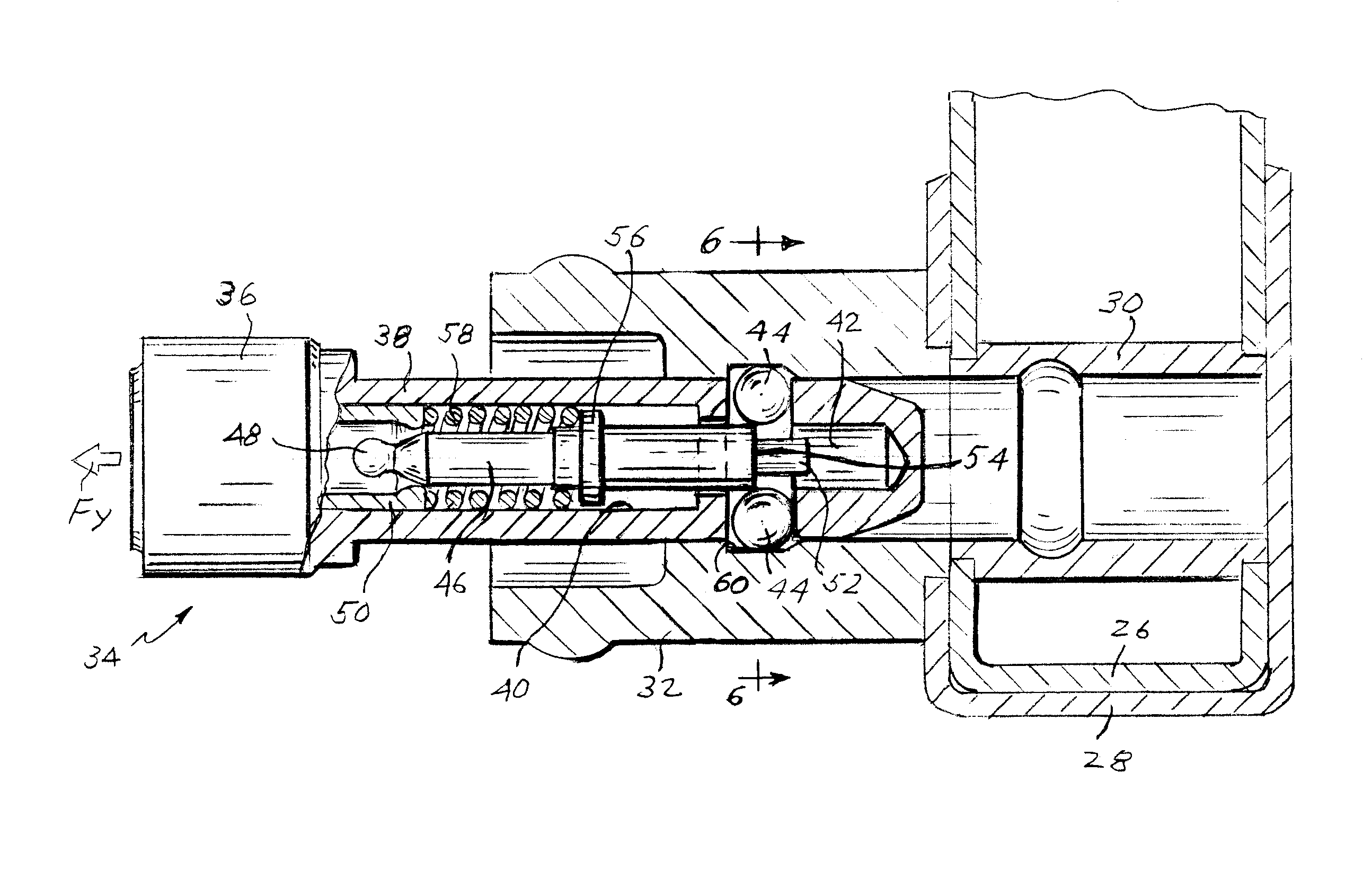 Patent Us6684670 Lock Assembly With Self Retained Barrel
