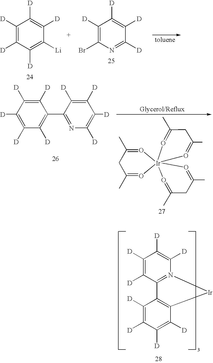 Us6686067b2 Deuterated Semi Conducting Organic Compounds