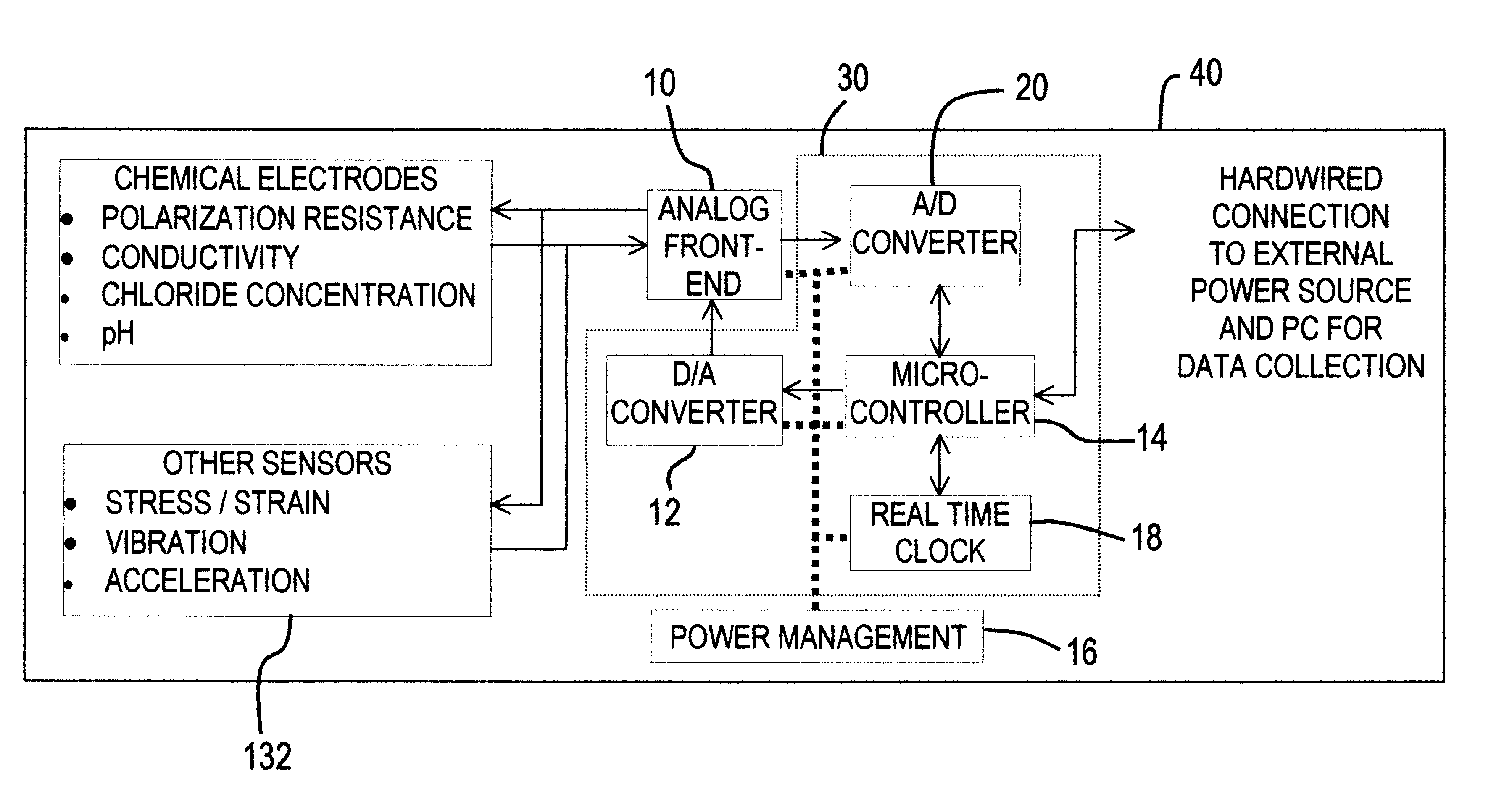 Patent Us6690182 Embeddable Corrosion Monitoring Instrument For Rs232 Transceiver Circuit Collection Drawing