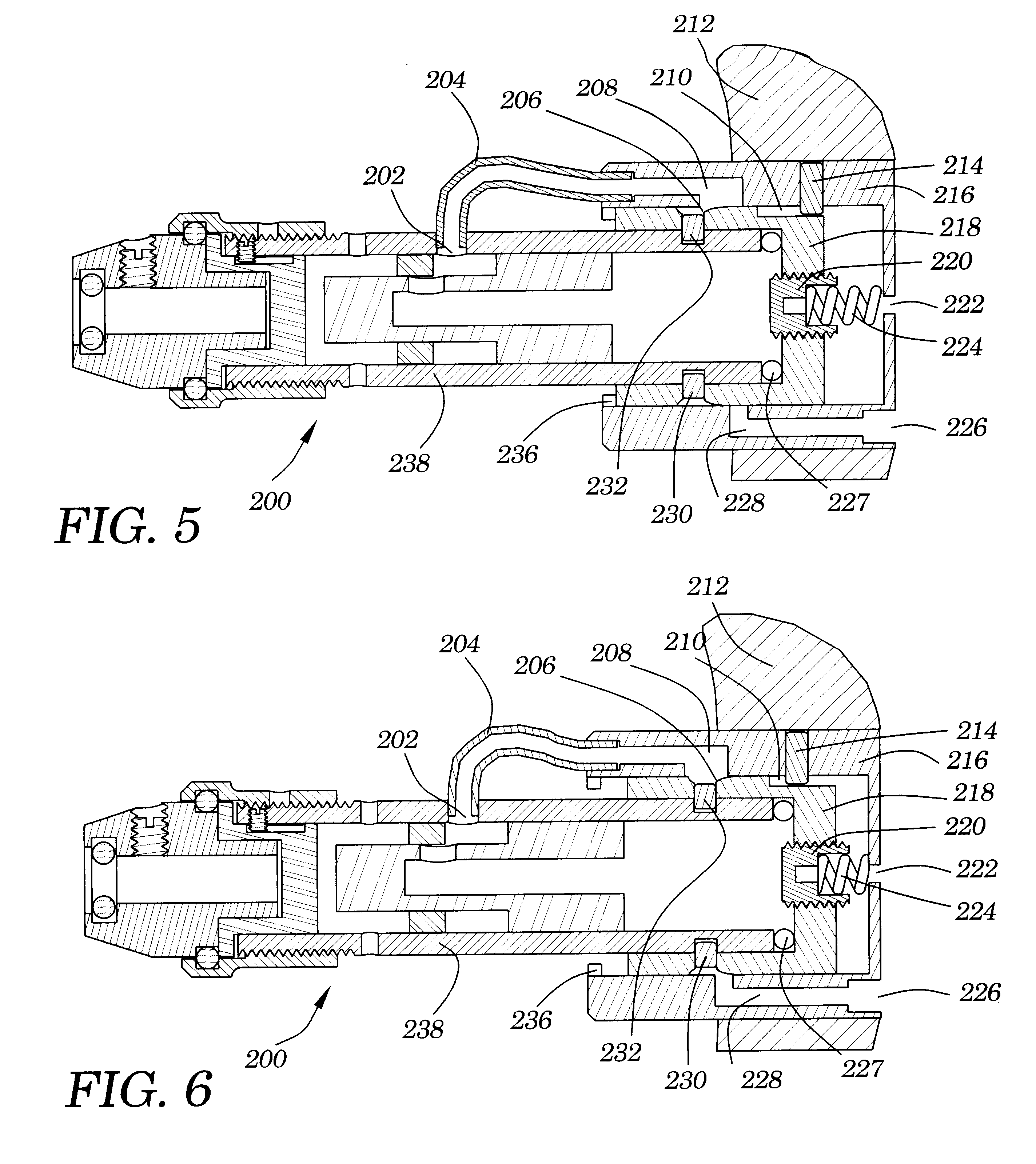 patent us6691798 - variable hand pressure activated power tool