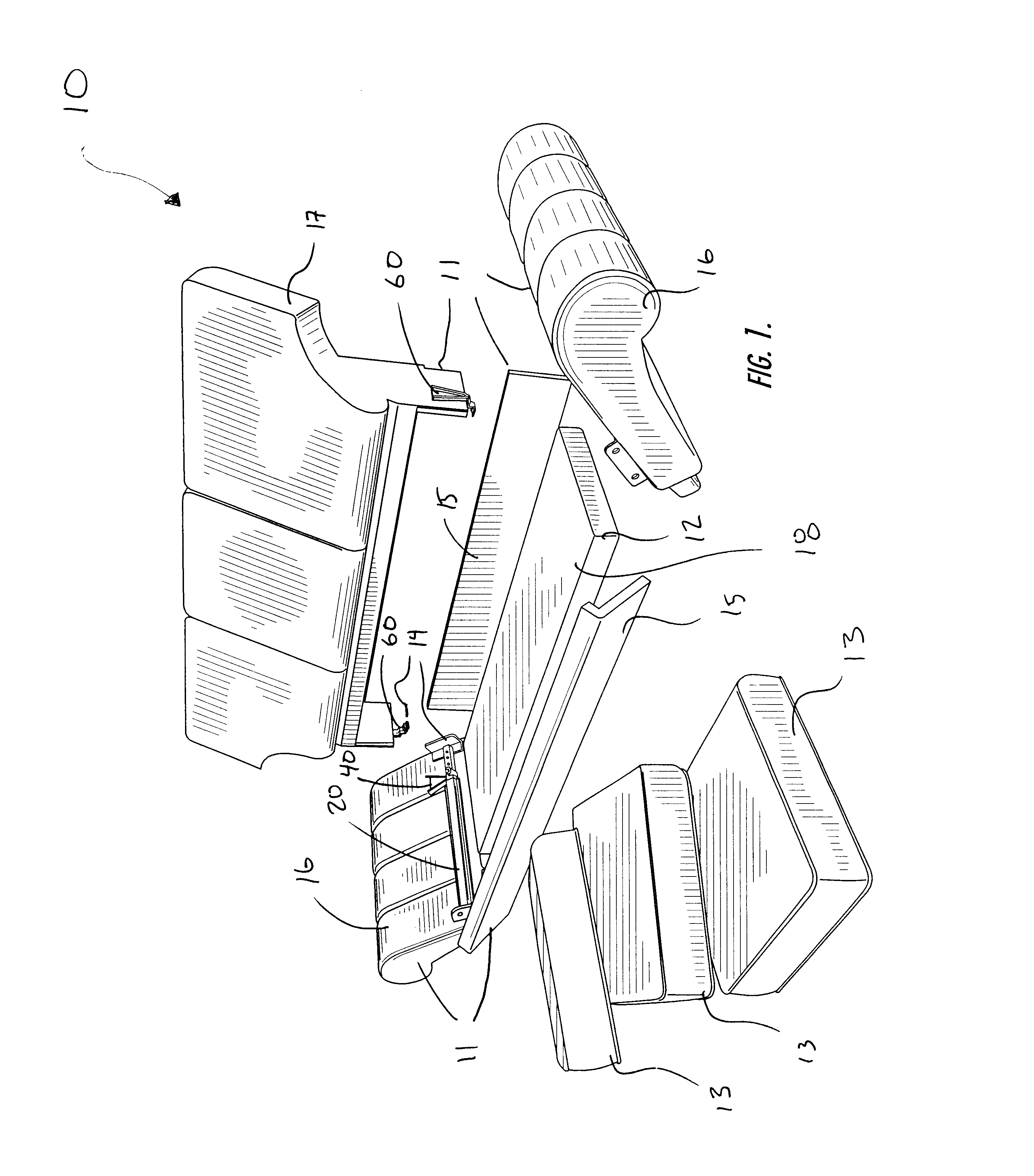 Patent Us6692079 Frame Assembly For Modular Furniture